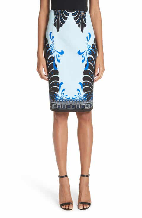 Versace Eros Cady Pencil Skirt