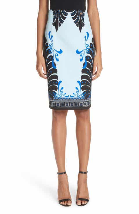 Versace Eros Cady Pencil Skirt On sale