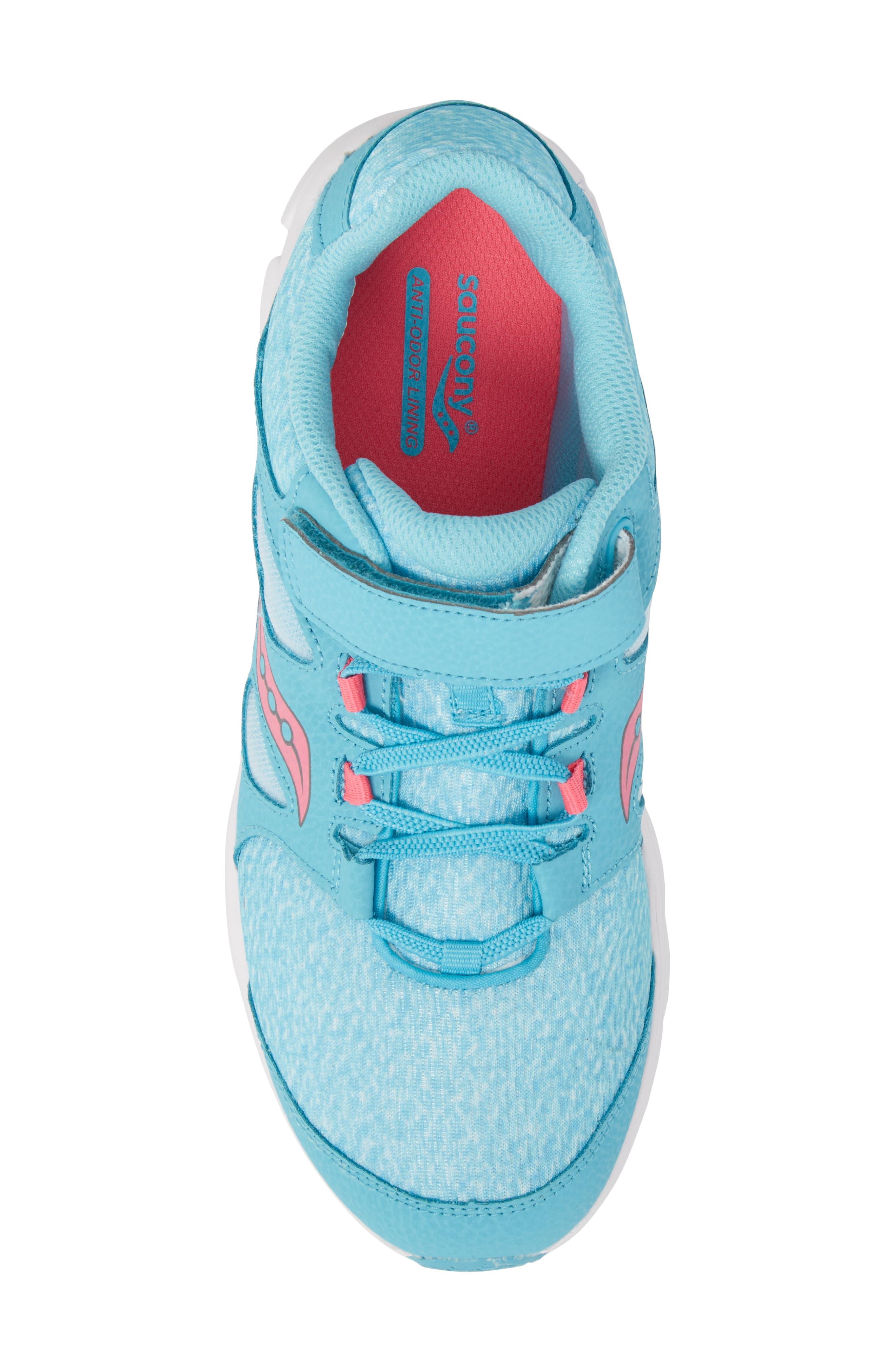 Kotaro 4 Sneaker,                             Alternate thumbnail 5, color,                             Turquoise/ Pink