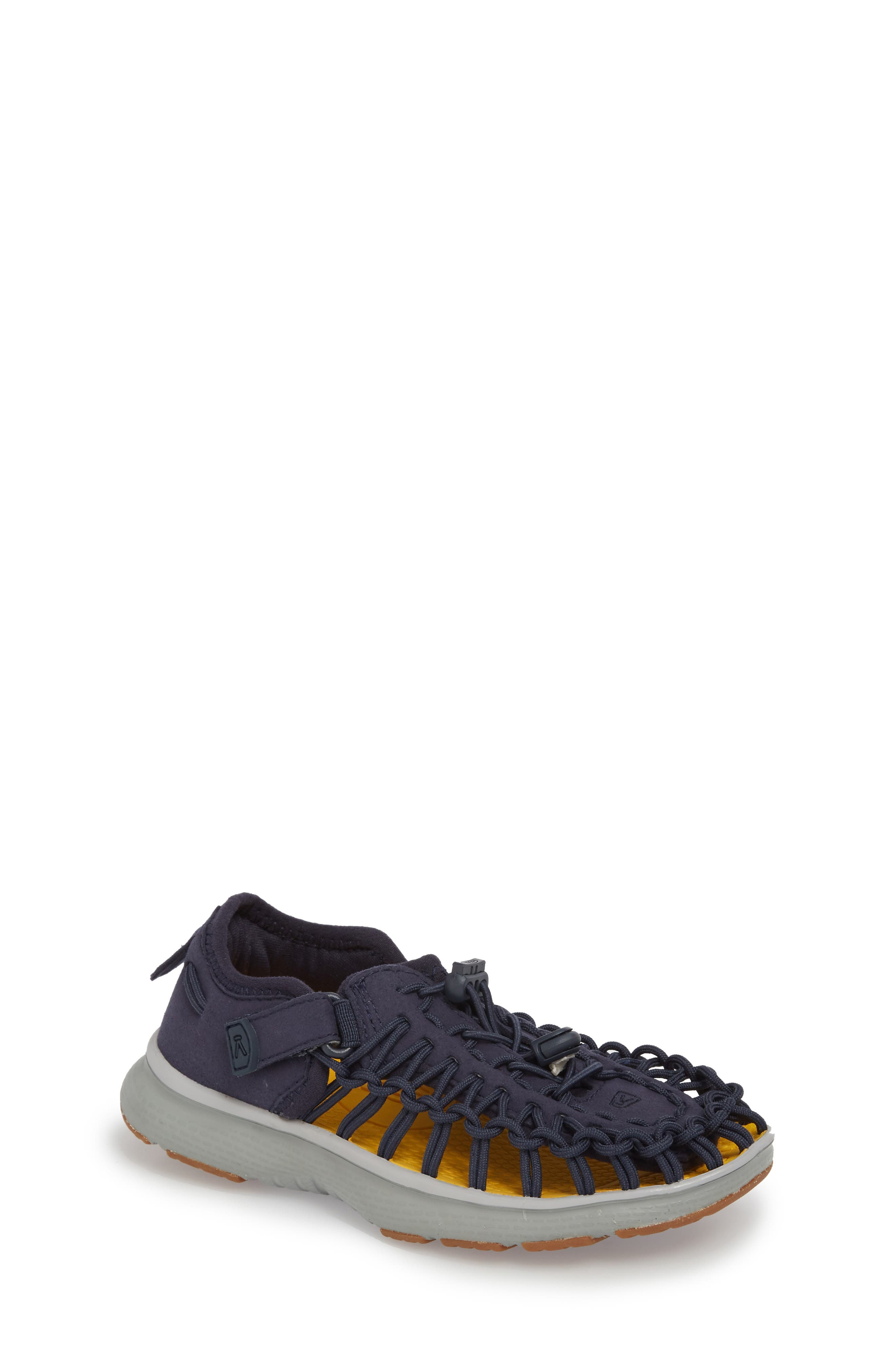 'Uneek' Water Sneaker,                             Main thumbnail 1, color,                             Dress Blues/ Neutral Gray