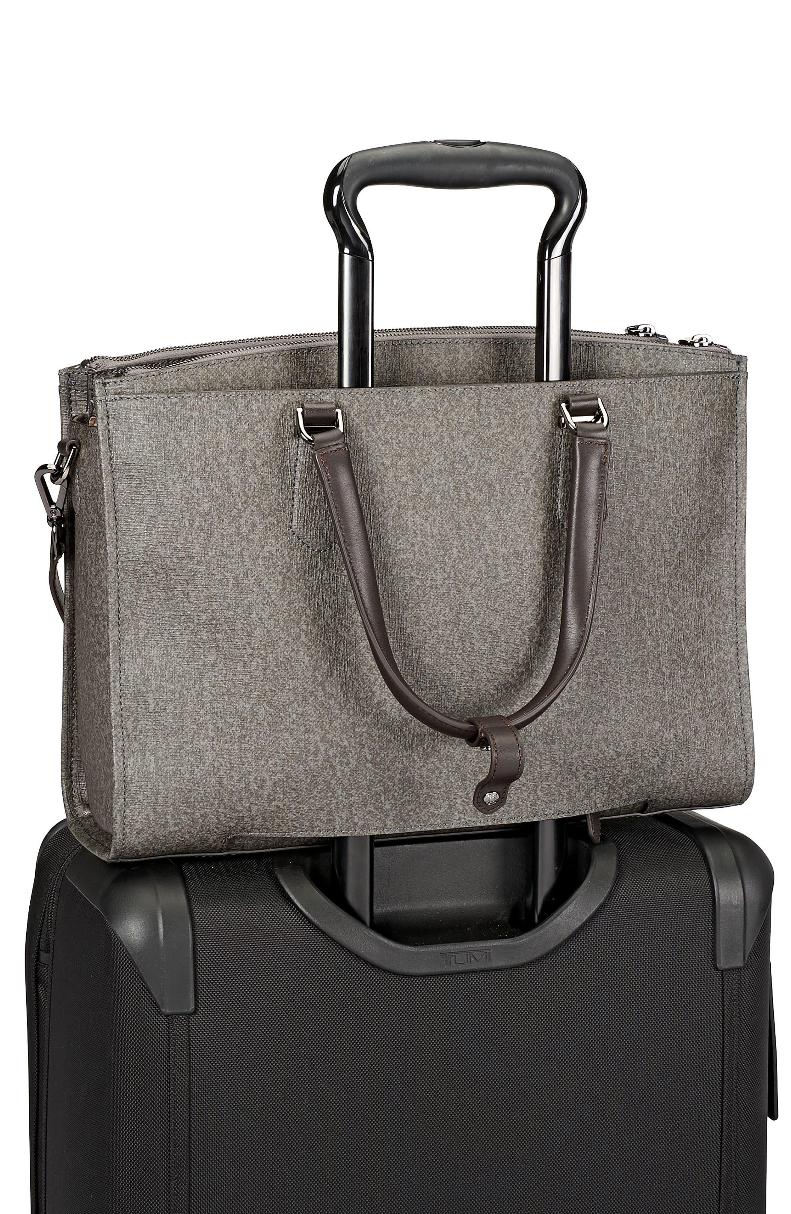 Stanton – Esme Business Briefcase,                             Alternate thumbnail 4, color,                             Earl Grey