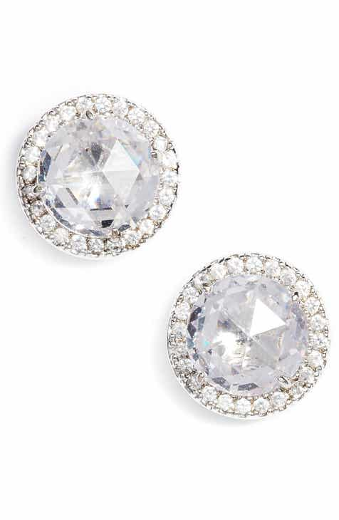Kate Spade New York Bright Ideas Pavé Halo Stud Earrings