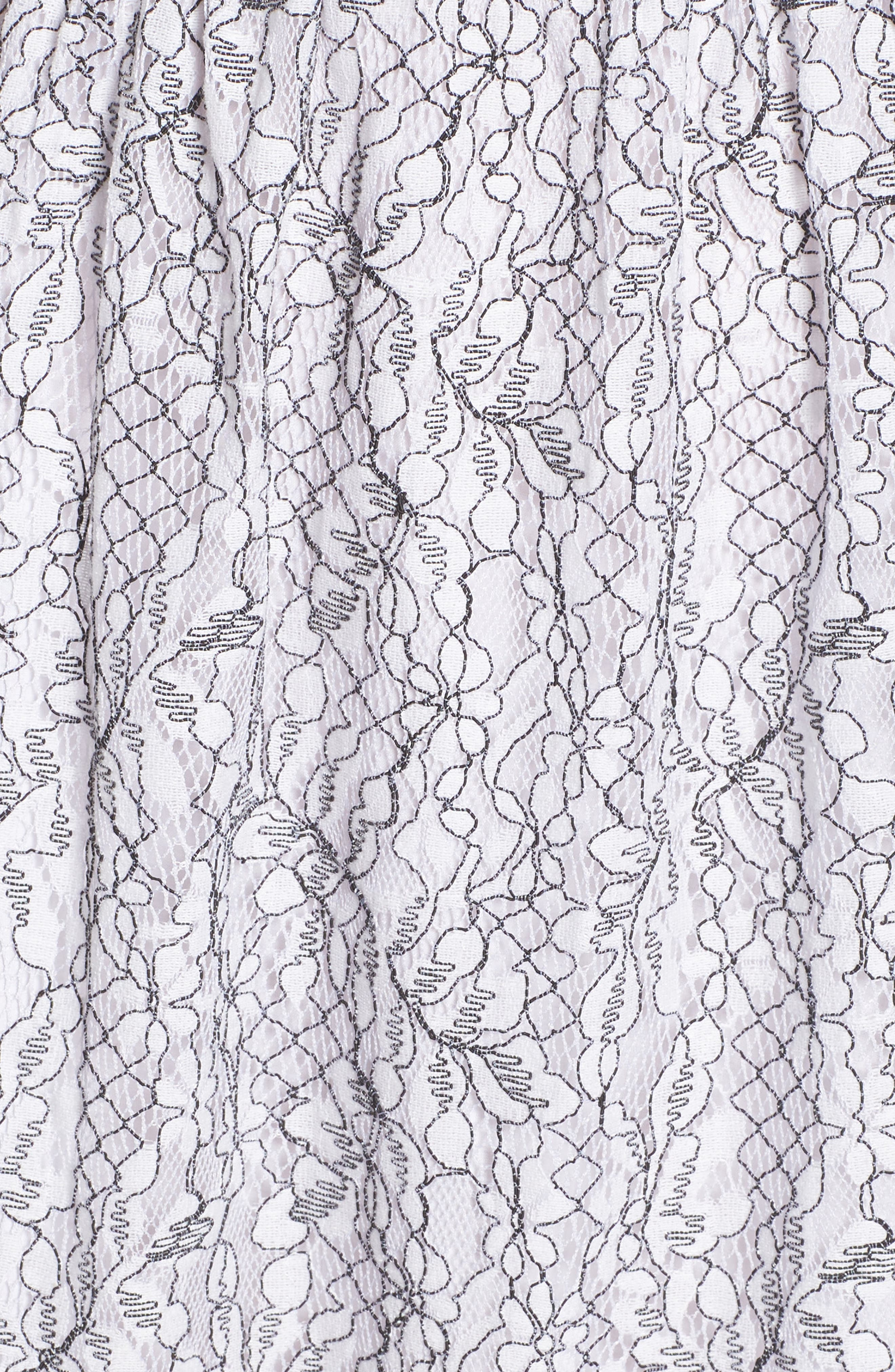 Ezzy Lace Dress,                             Alternate thumbnail 5, color,                             Ivory