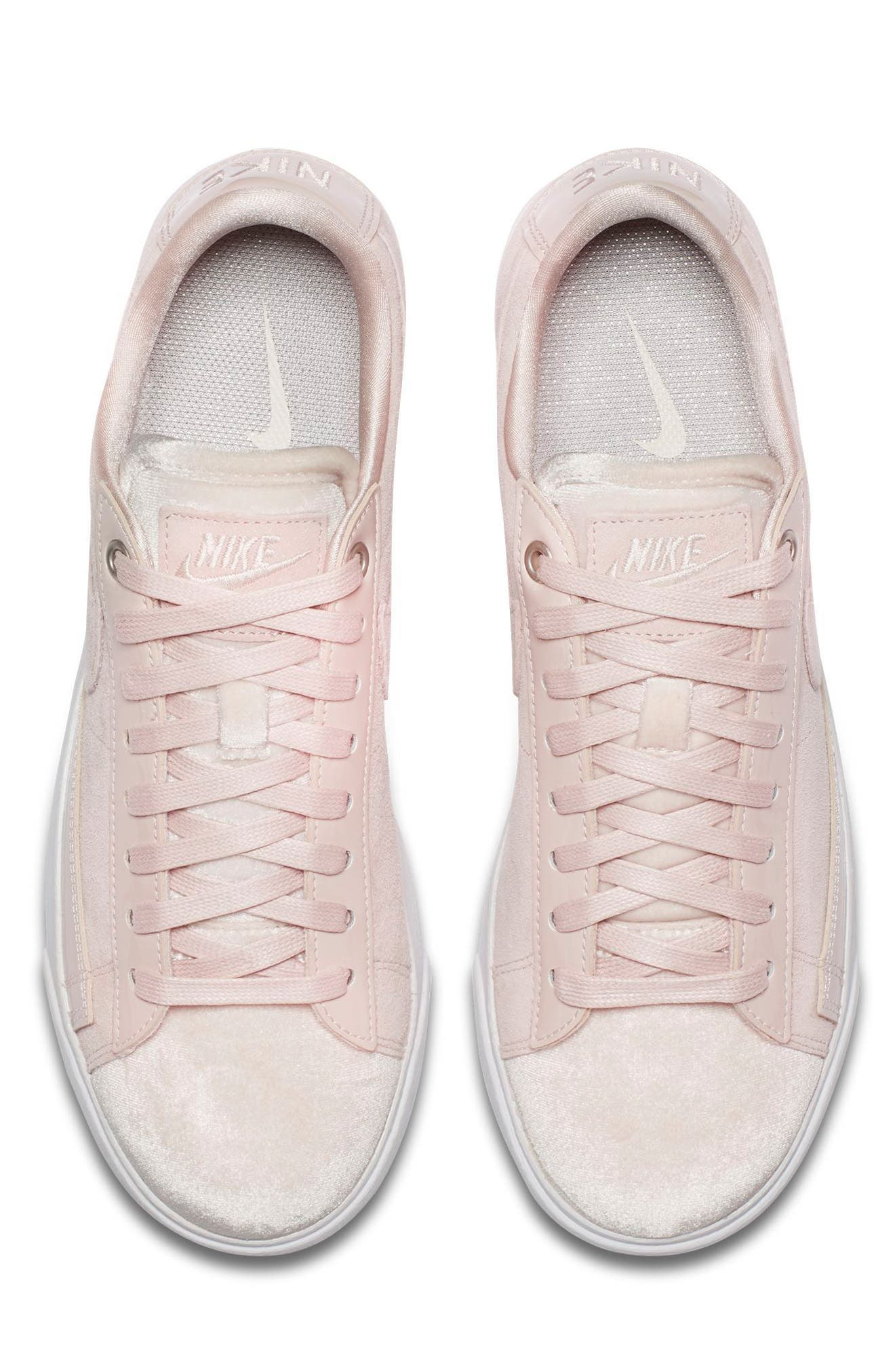 Blazer Low LX Sneaker,                             Alternate thumbnail 4, color,                             Silt Red/ Brown/ White