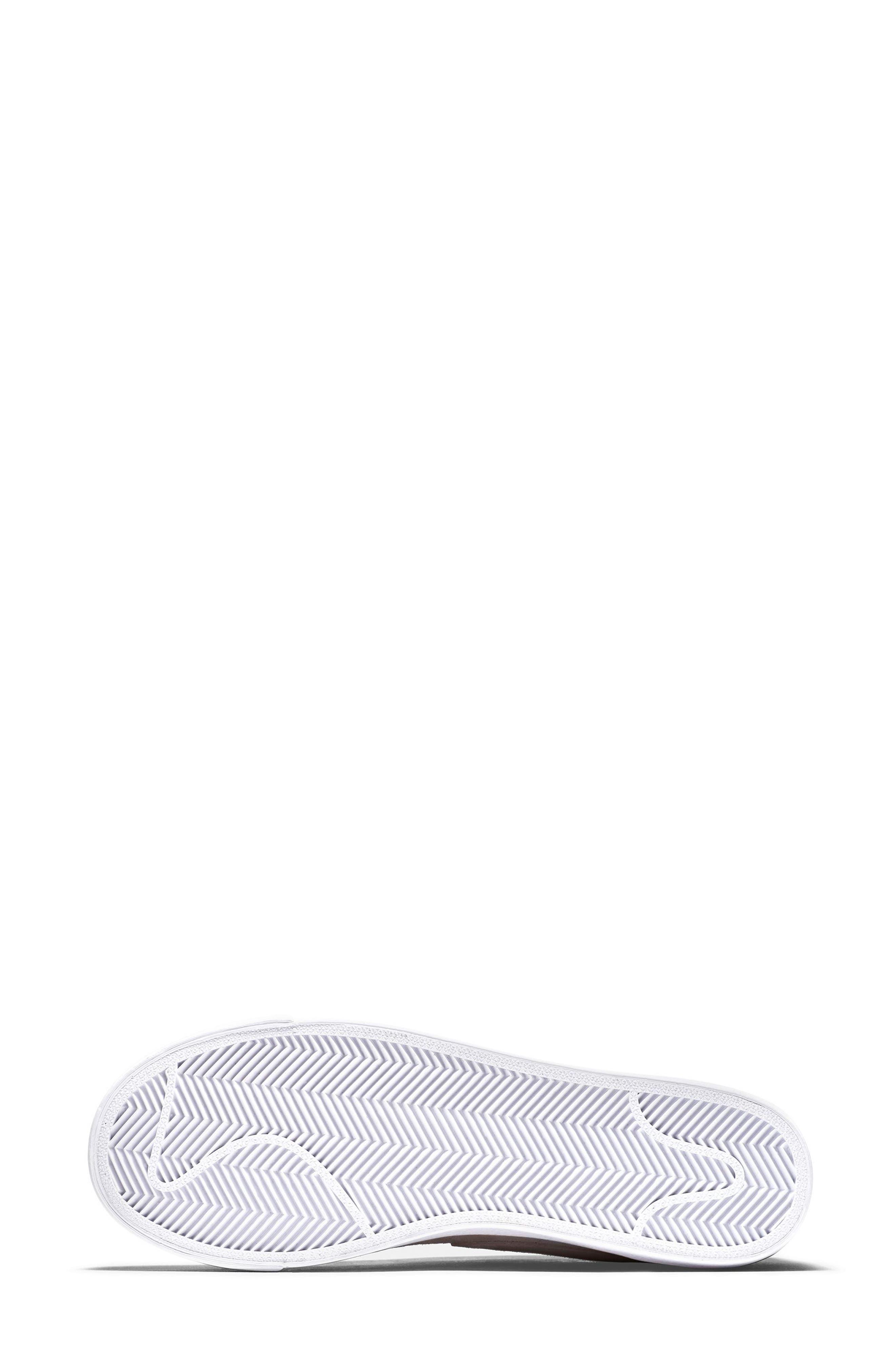 Blazer Low LX Sneaker,                             Alternate thumbnail 6, color,                             Silt Red/ Brown/ White