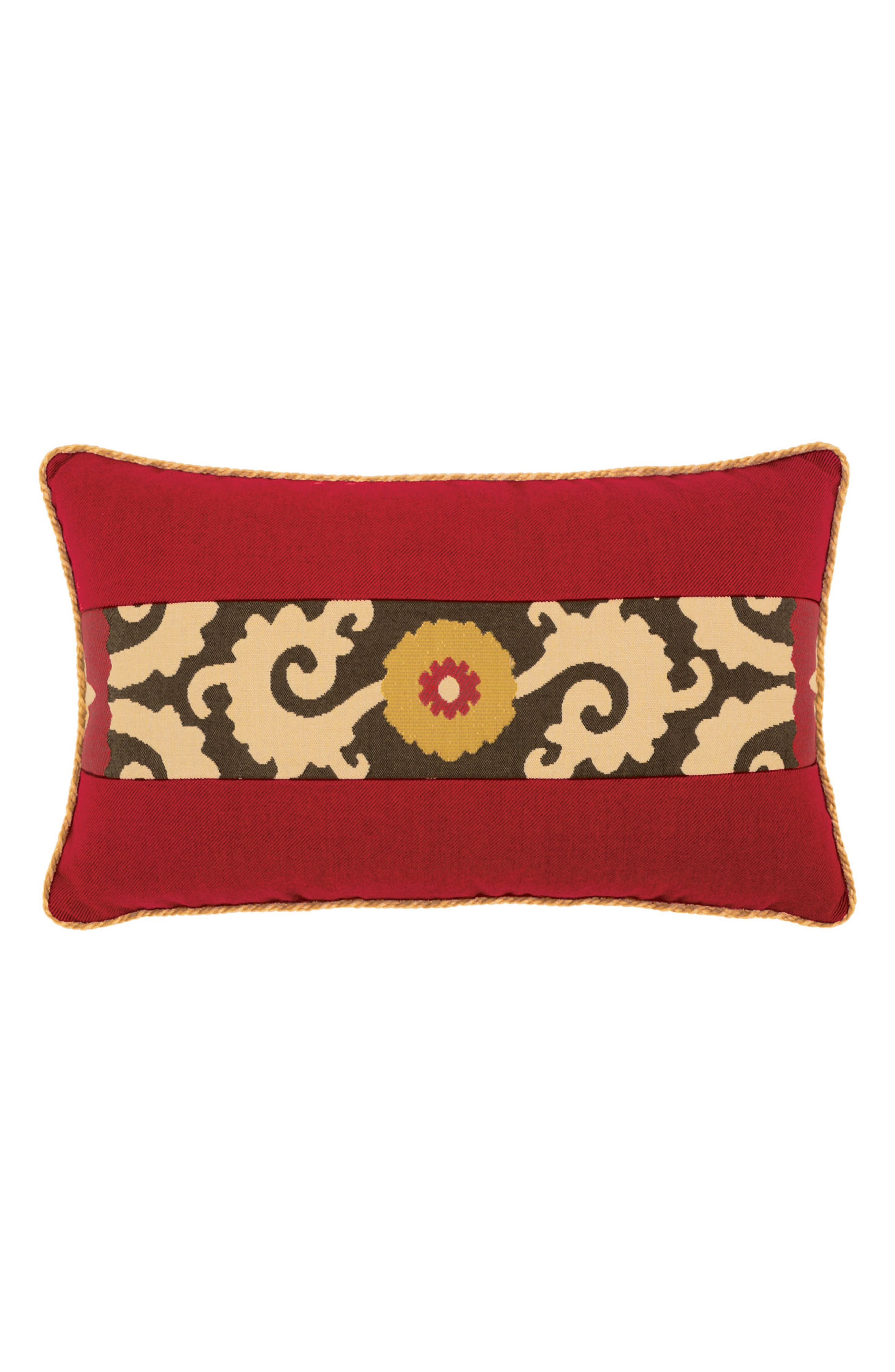 Elaine Smith Suzani Sun Lumbar Pillow