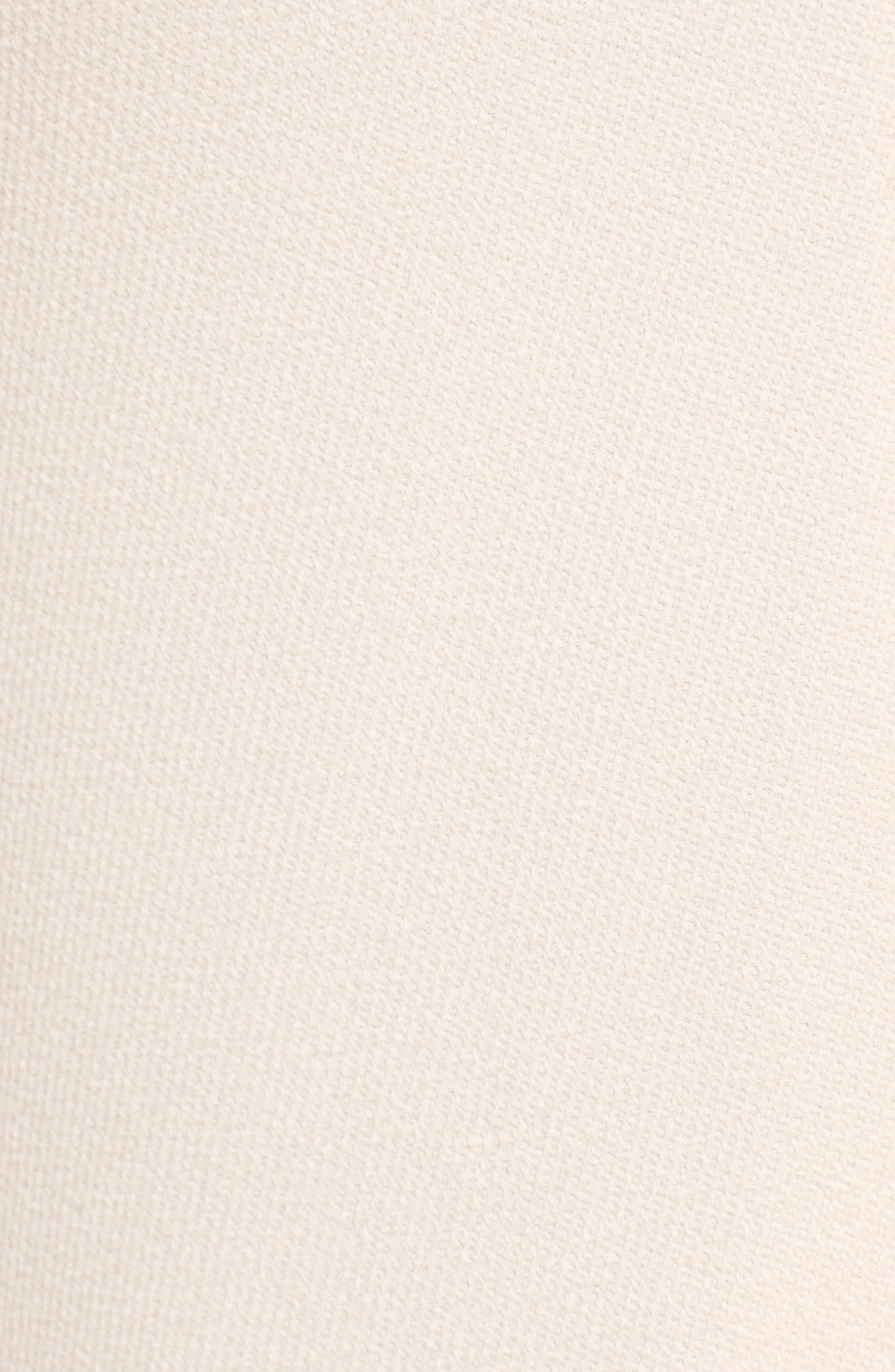 Handkerchief Hem Racerback Dress,                             Alternate thumbnail 5, color,                             Cream