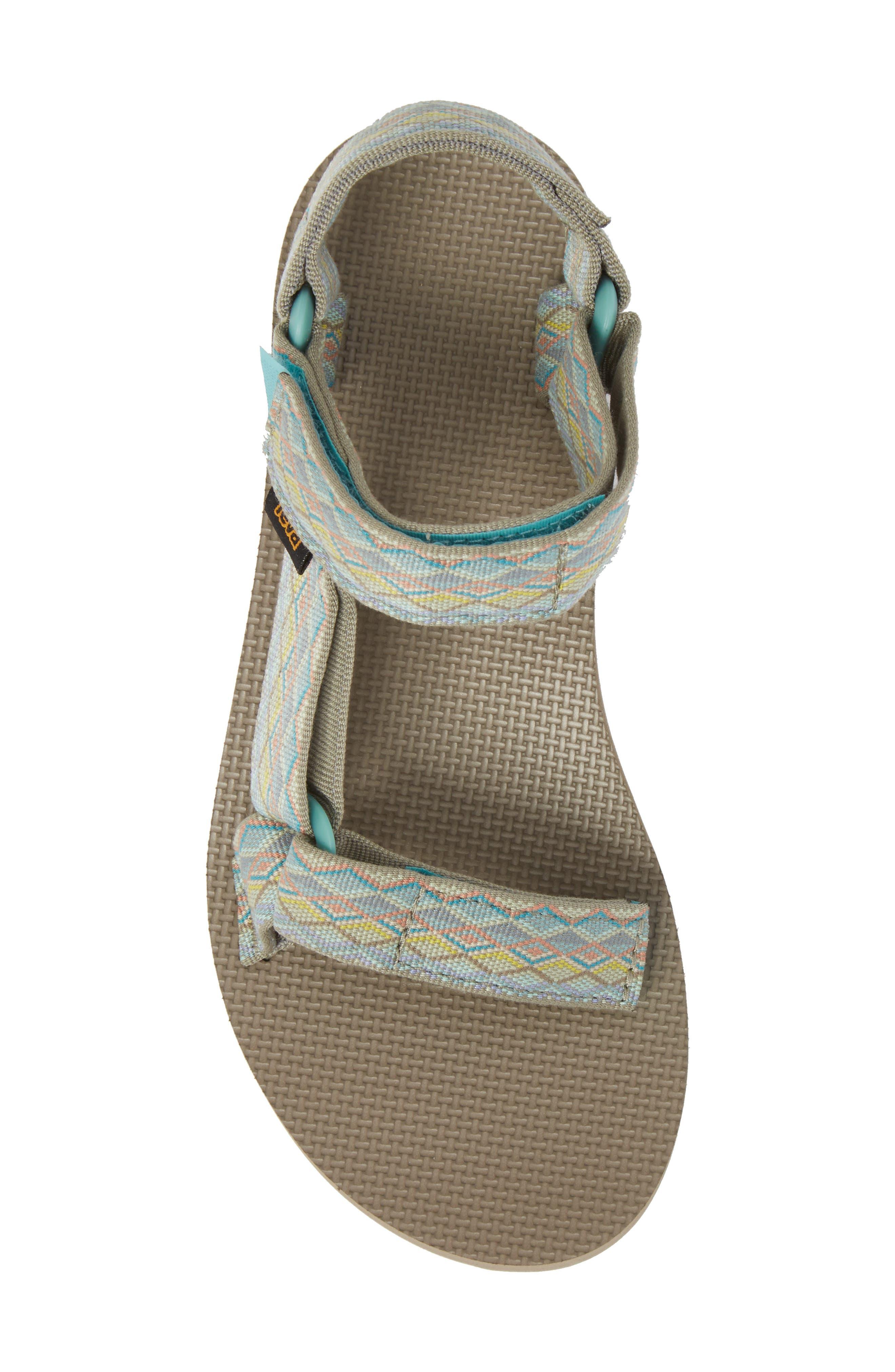 'Original Universal' Sandal,                             Alternate thumbnail 5, color,                             Mirimar Fade Sage Multi