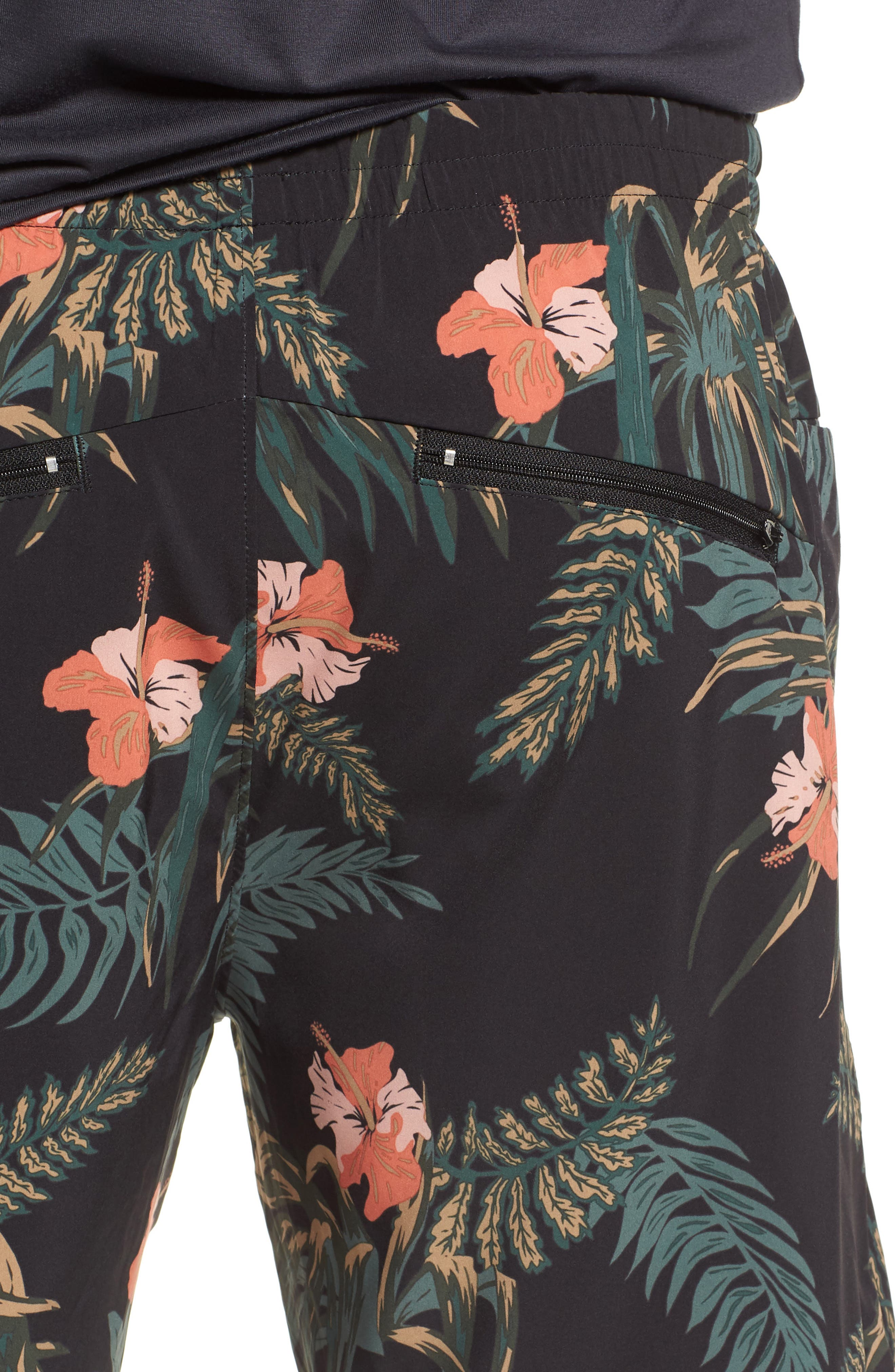 Ignite Shorts,                             Alternate thumbnail 4, color,                             Floral/ Multi