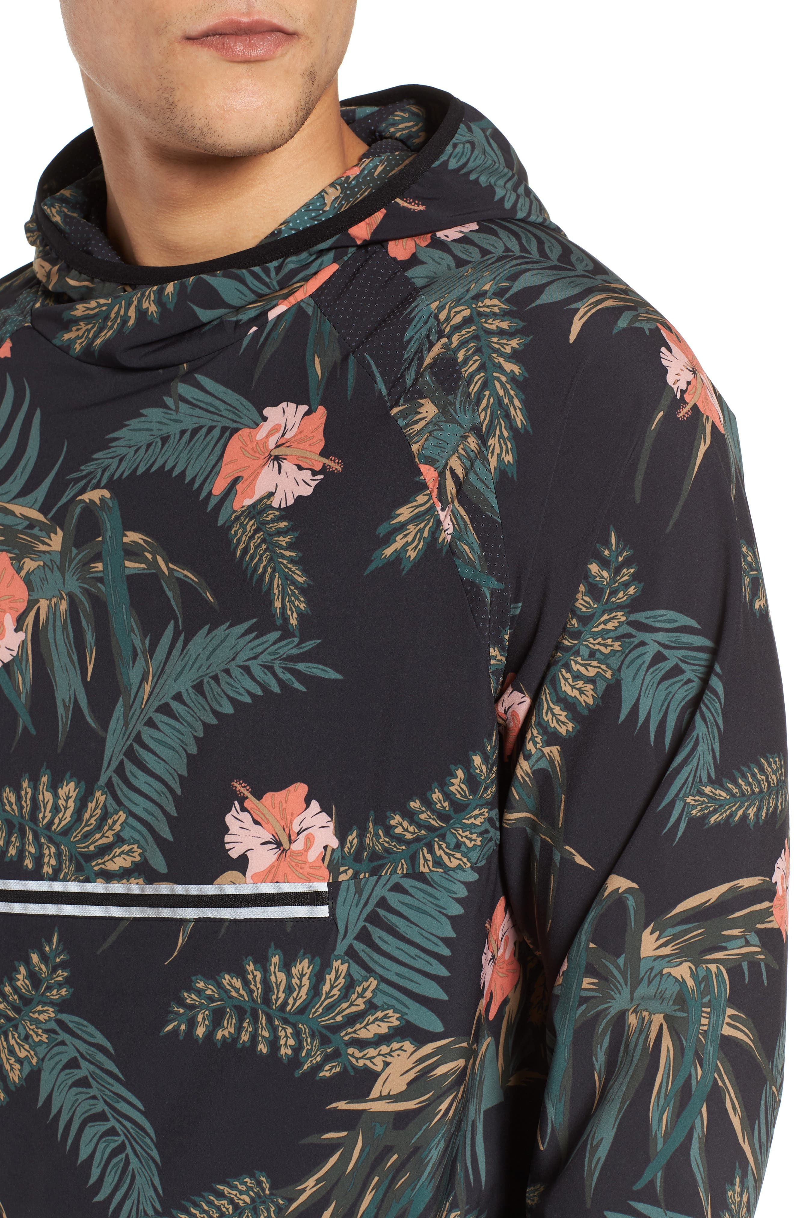 Ignite Pullover,                             Alternate thumbnail 4, color,                             Floral/ Multi