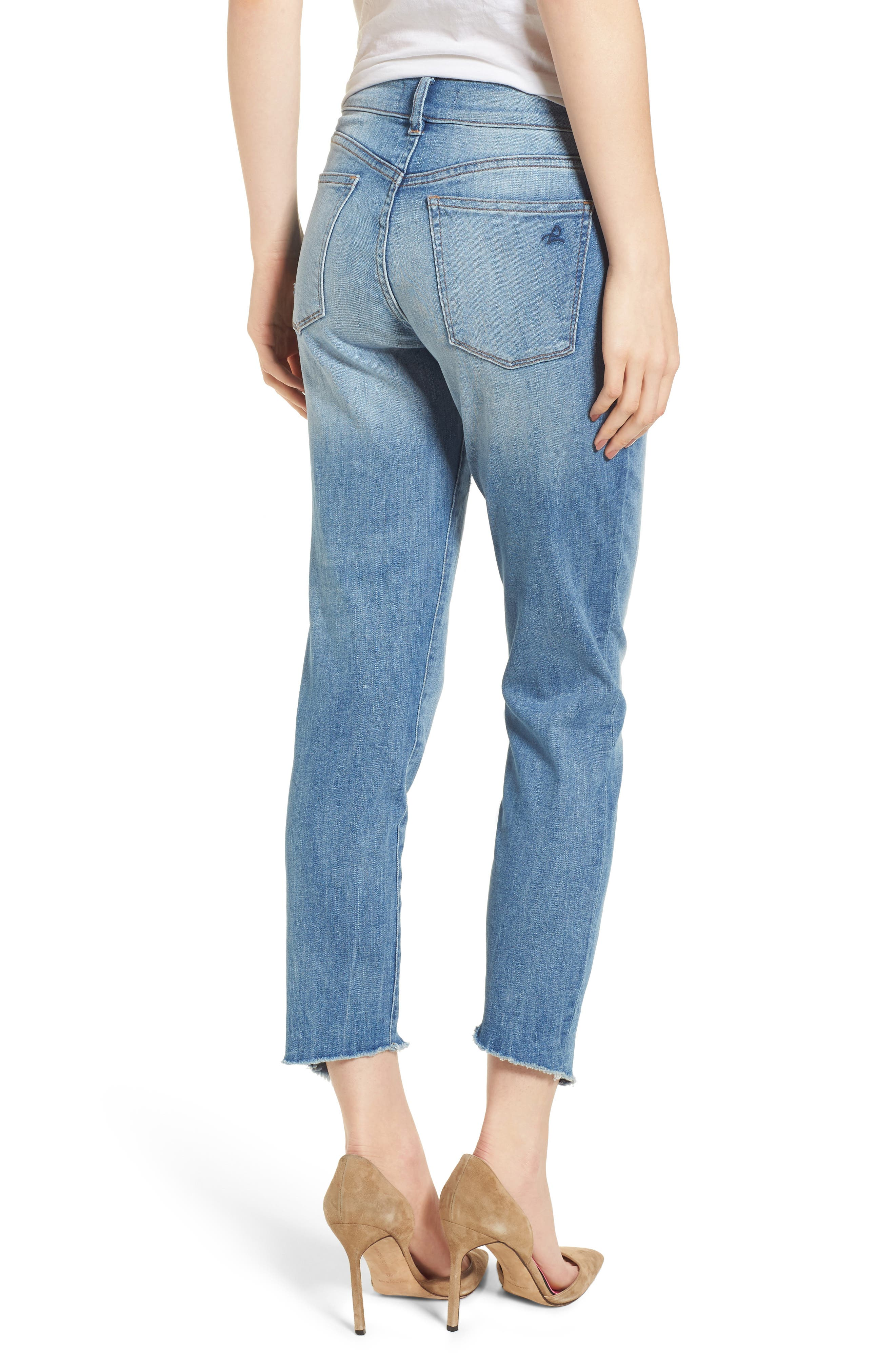 Florence Instasculpt Crop Skinny Jeans,                             Alternate thumbnail 2, color,                             New Town