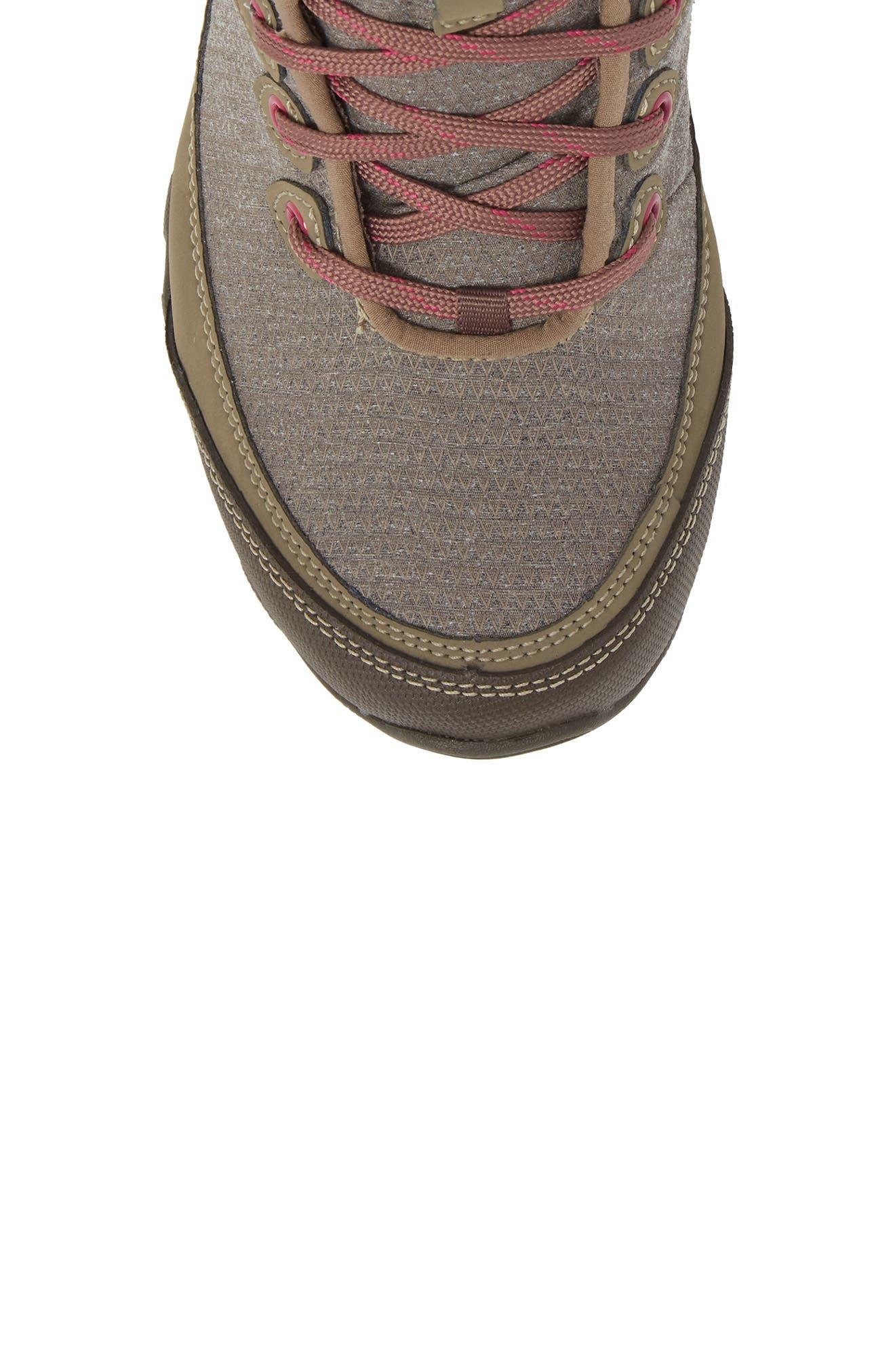 Ahnu by Teva Sugarpine II Waterproof Hiking Boot,                             Alternate thumbnail 5, color,                             Walnut
