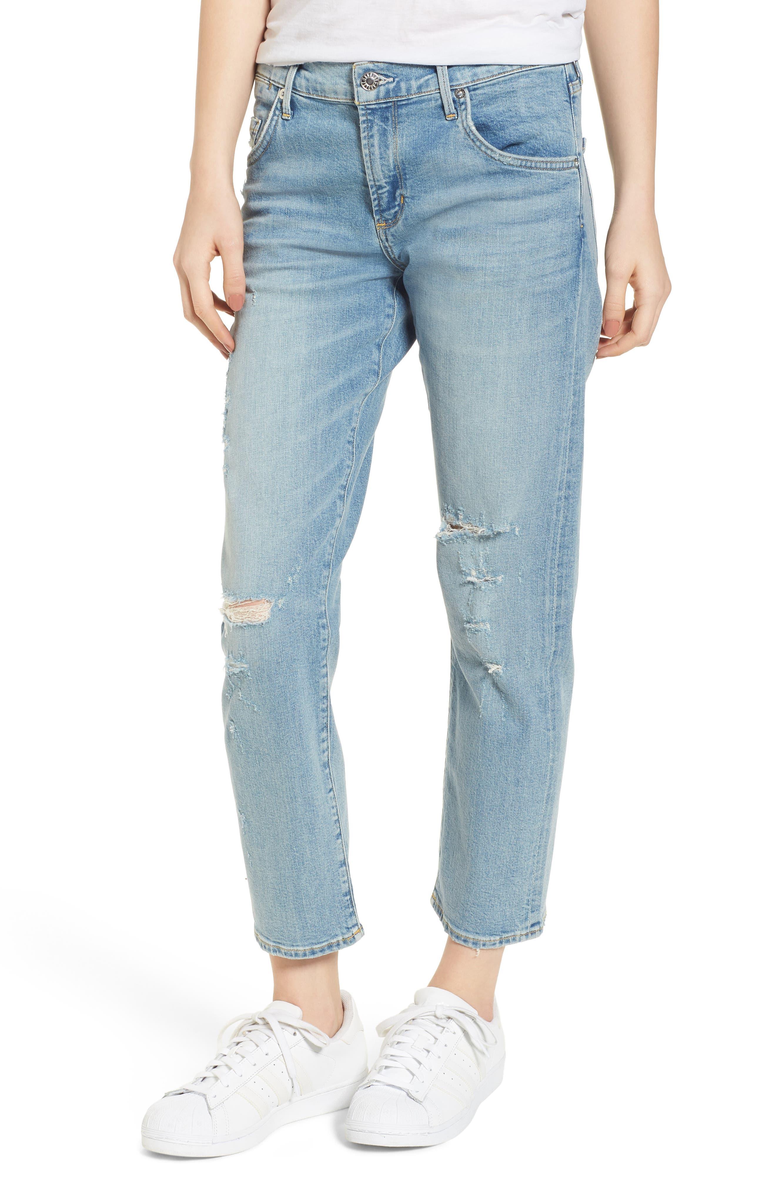 Isabel Ankle Slim Boyfriend Jeans,                         Main,                         color, Dreamer