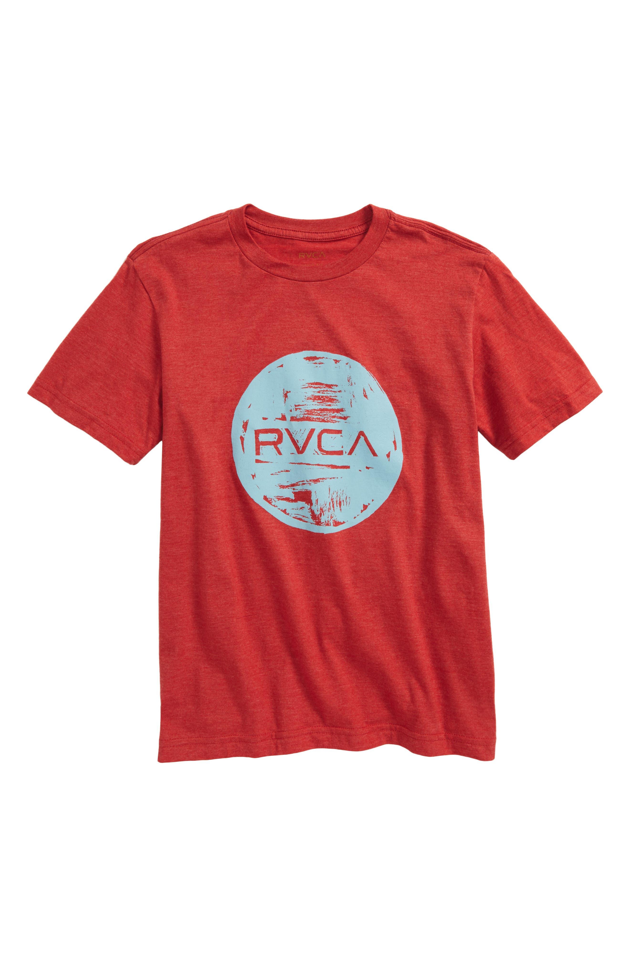 RVCA Motors Ink T-Shirt (Big Boys)