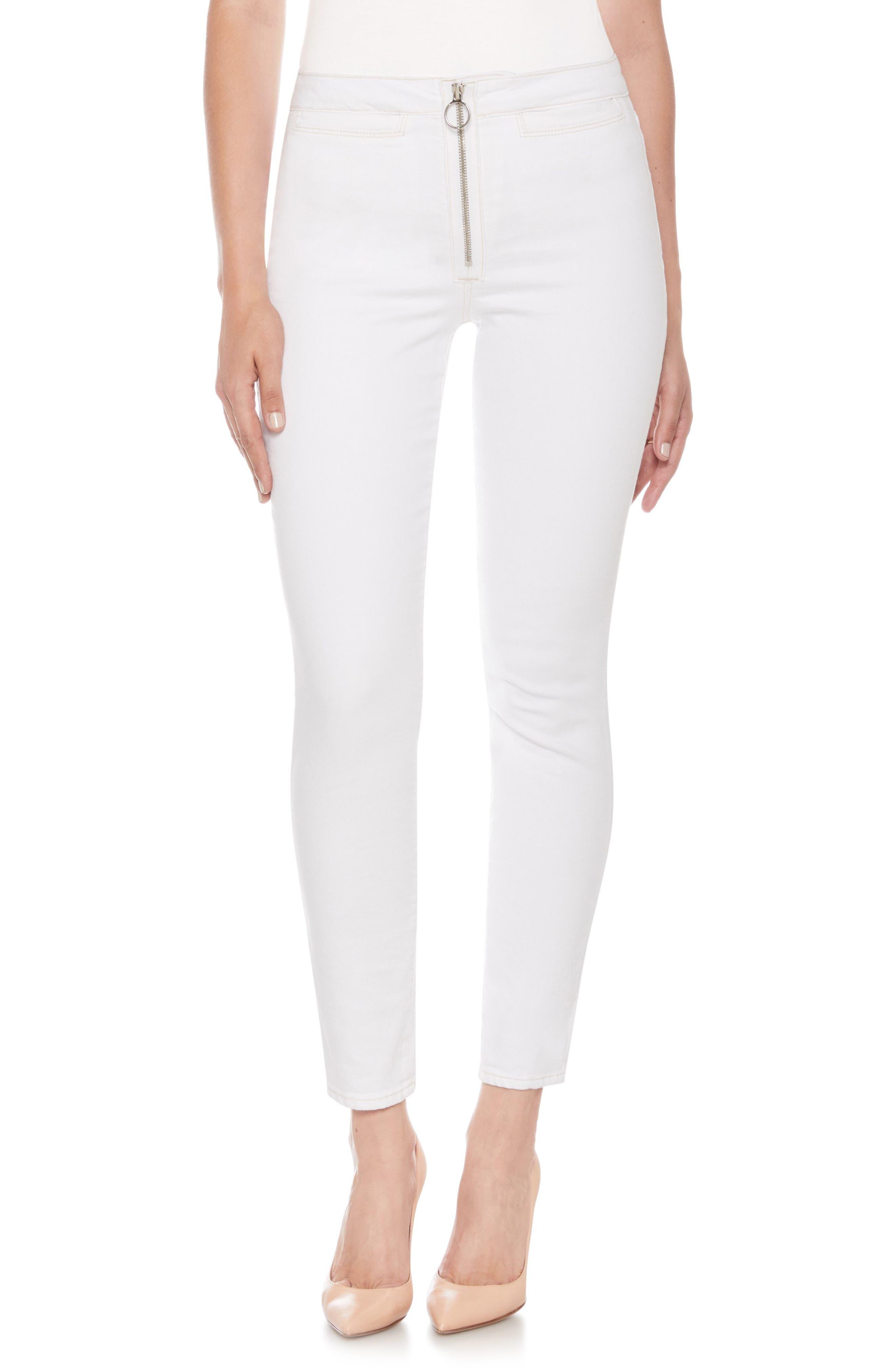 The Charlie High Waist Ankle Skinny Jeans,                         Main,                         color, Shoshana