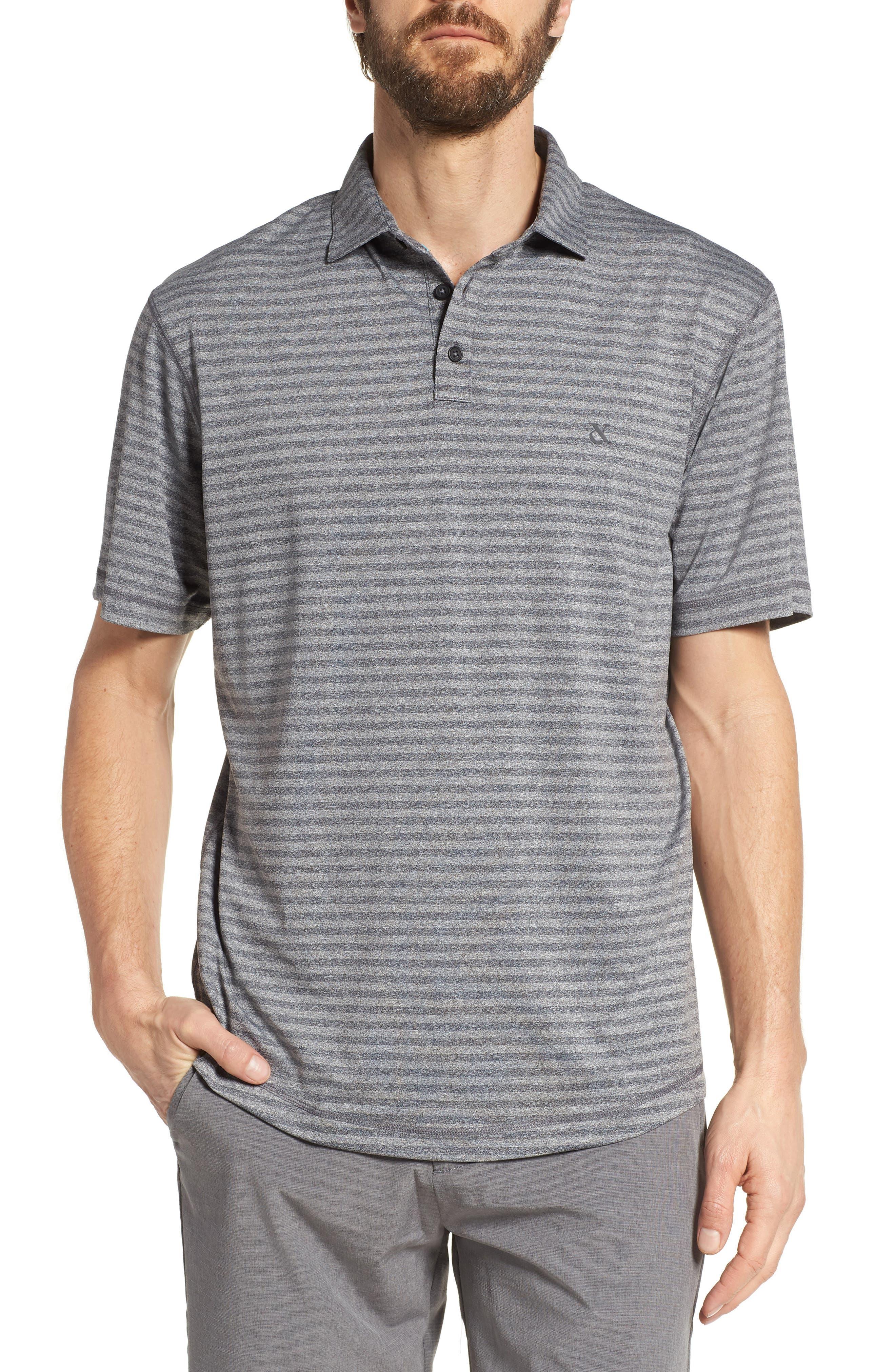 Devereux Vanquish Stripe Jersey Polo