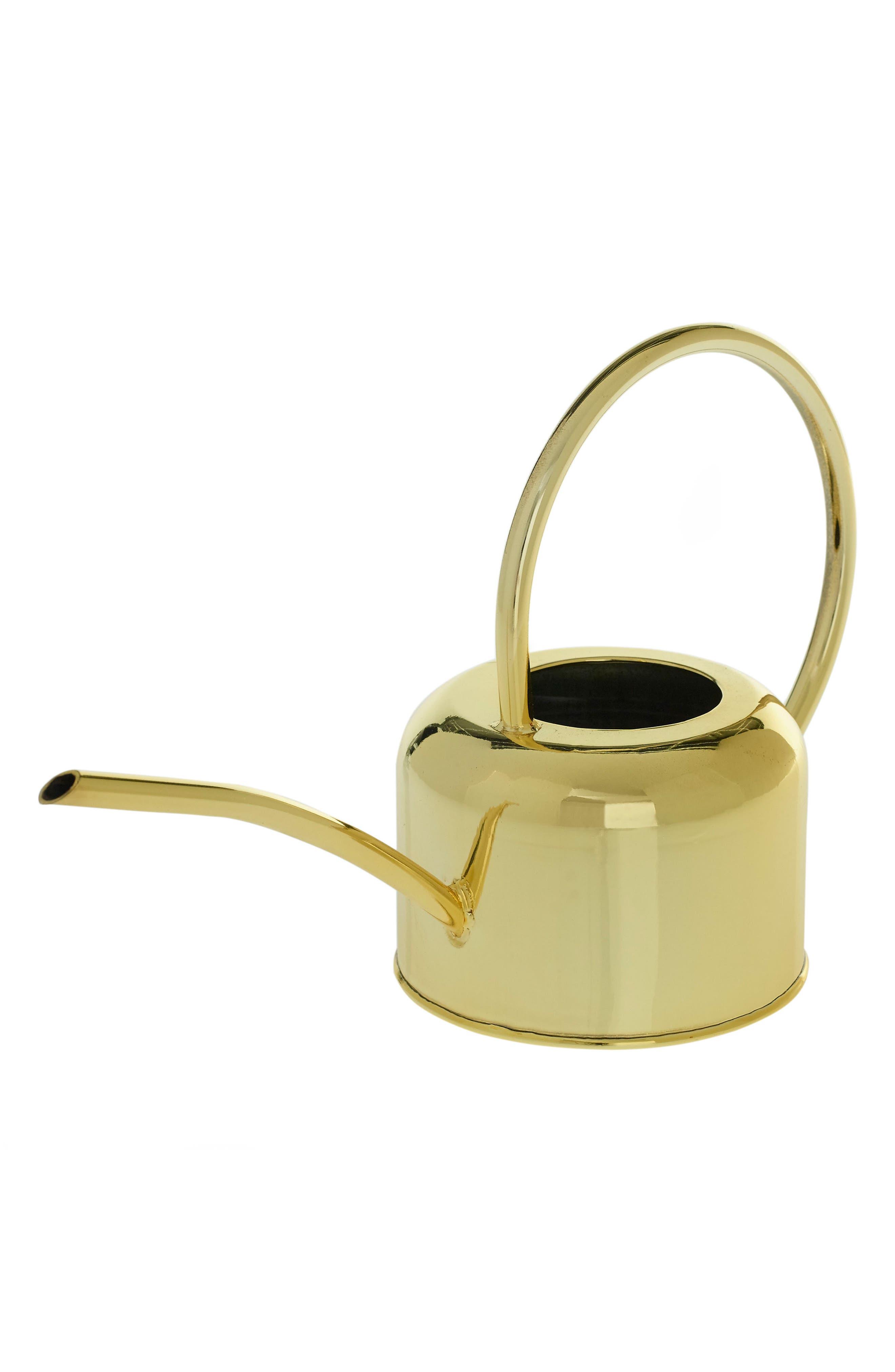 Henri Watering Can,                         Main,                         color, Metallic Gold