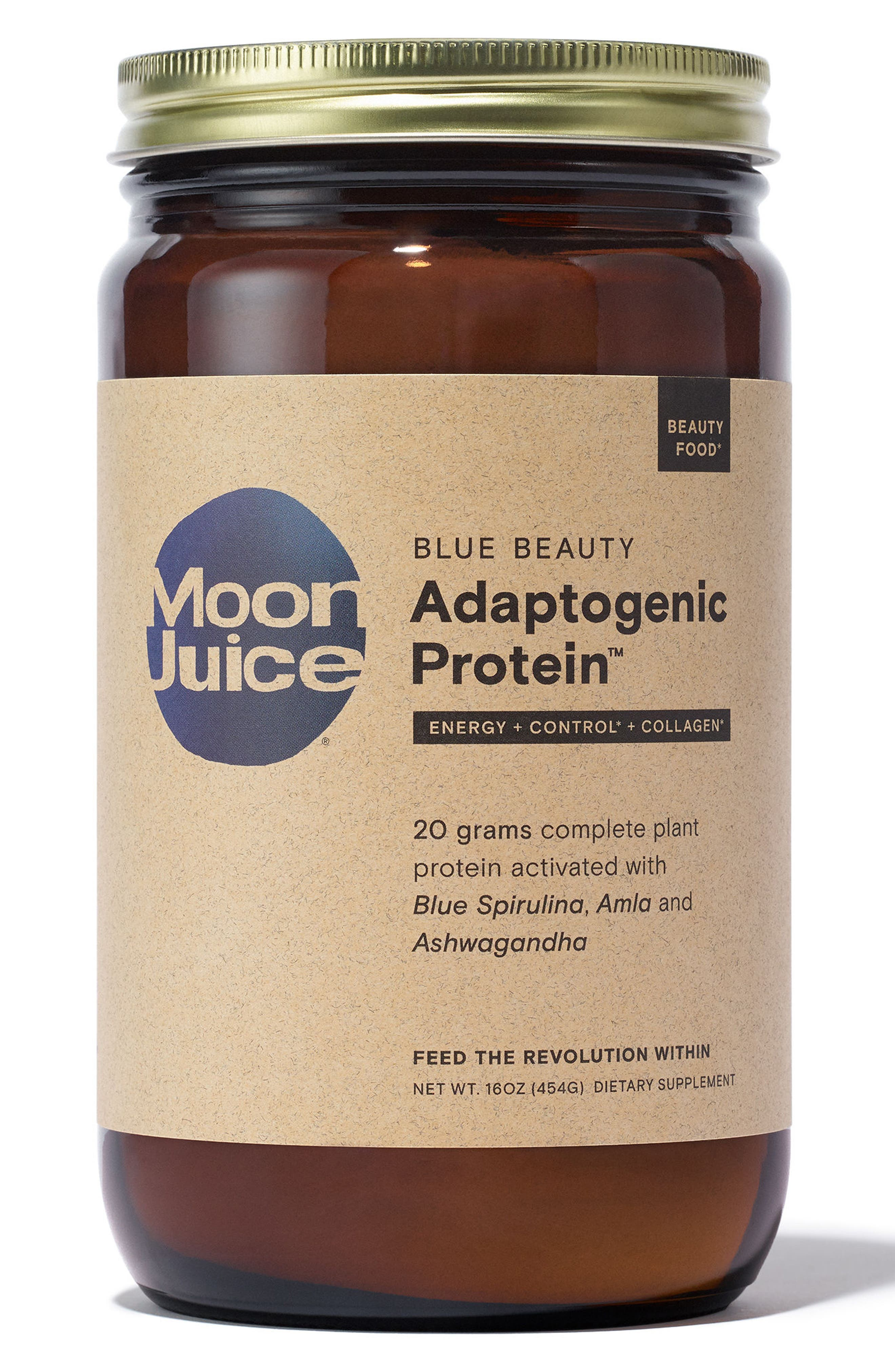 Blue Beauty Adaptogenic Protein<sup>™</sup> Dietary Supplement,                             Main thumbnail 1, color,                             No Color