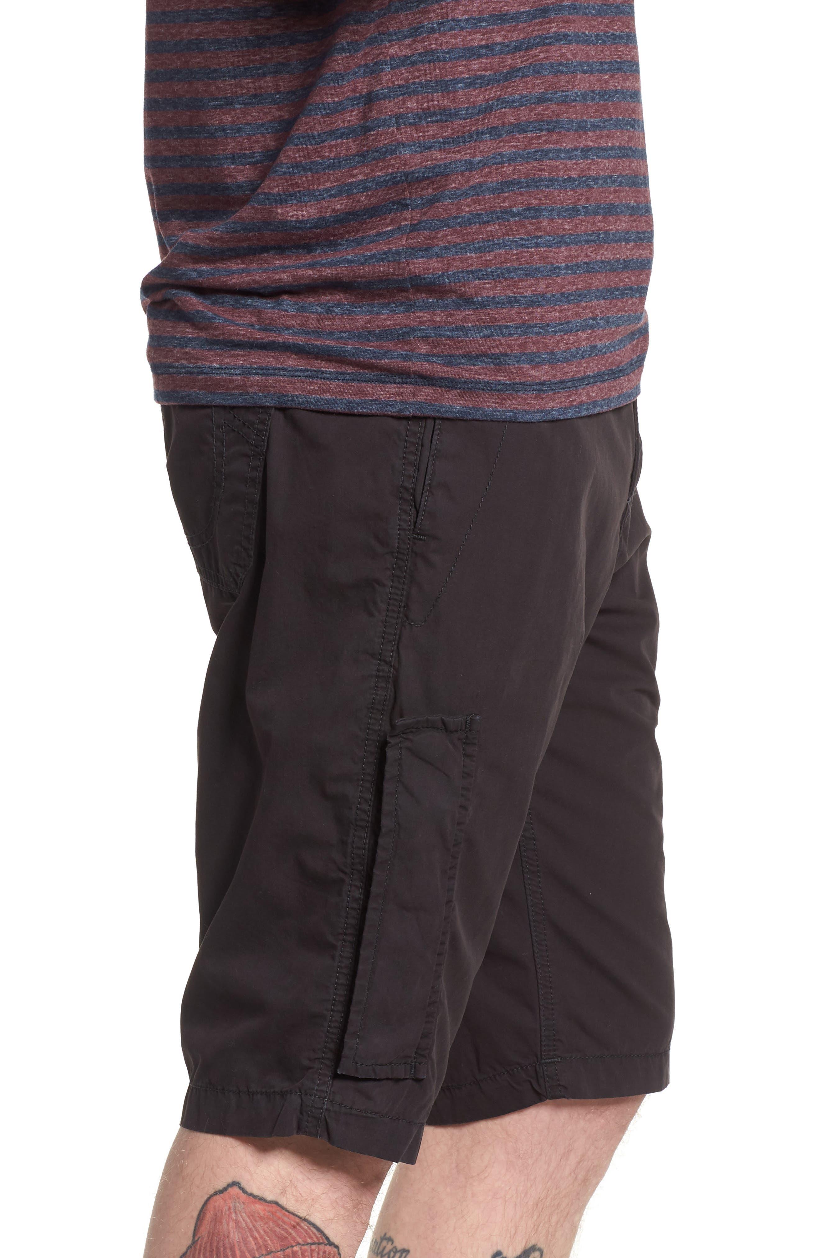 Officer Field Shorts,                             Alternate thumbnail 3, color,                             Black