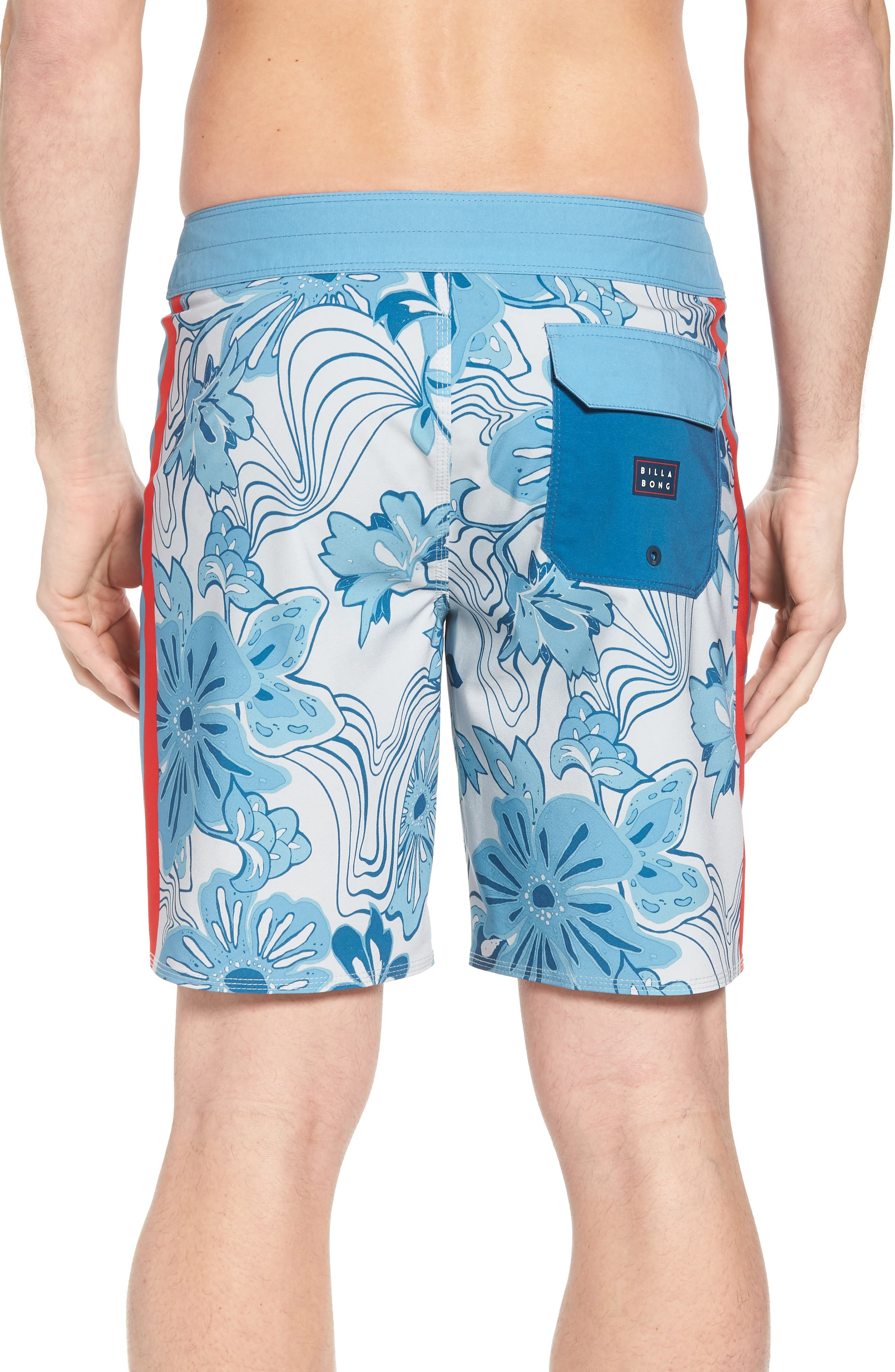 D Bah Airlite Board Shorts,                             Alternate thumbnail 2, color,                             Stone
