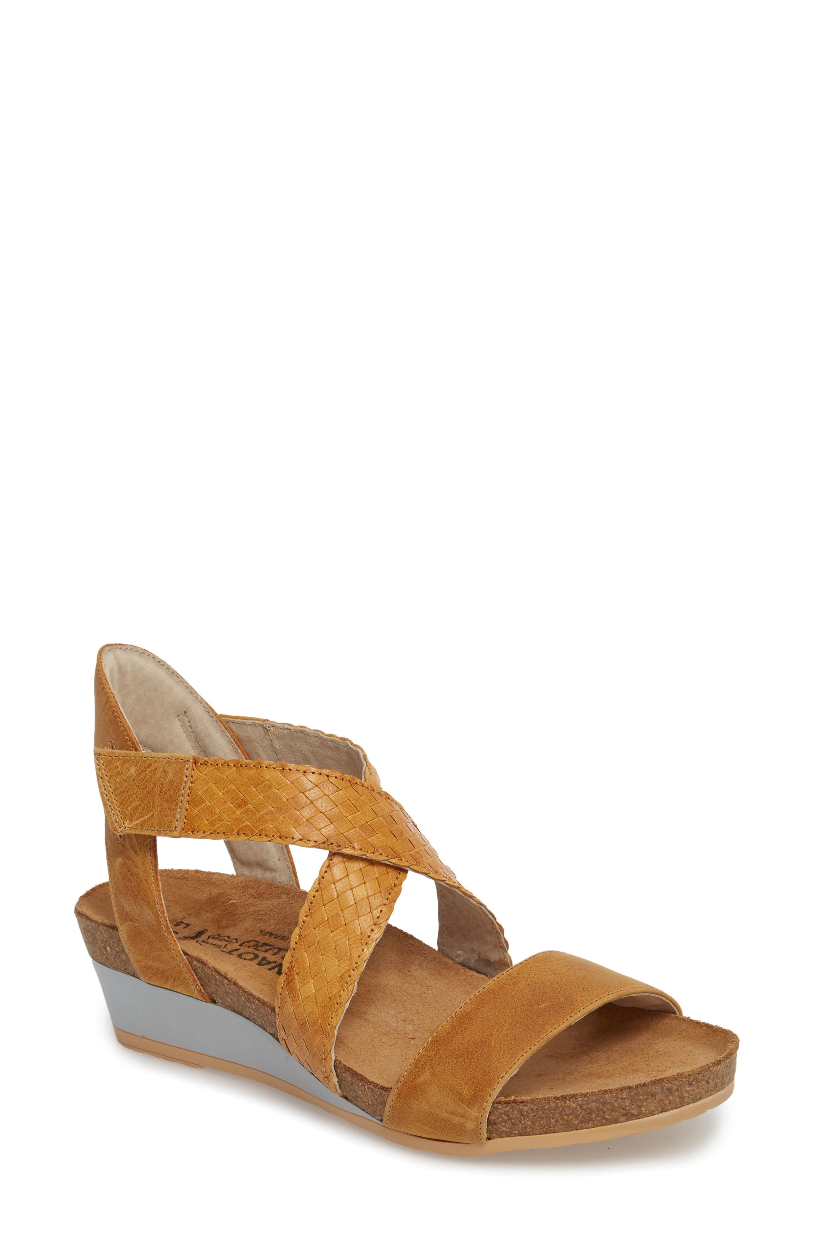 Naot Cupid Wedge Sandal (Women)