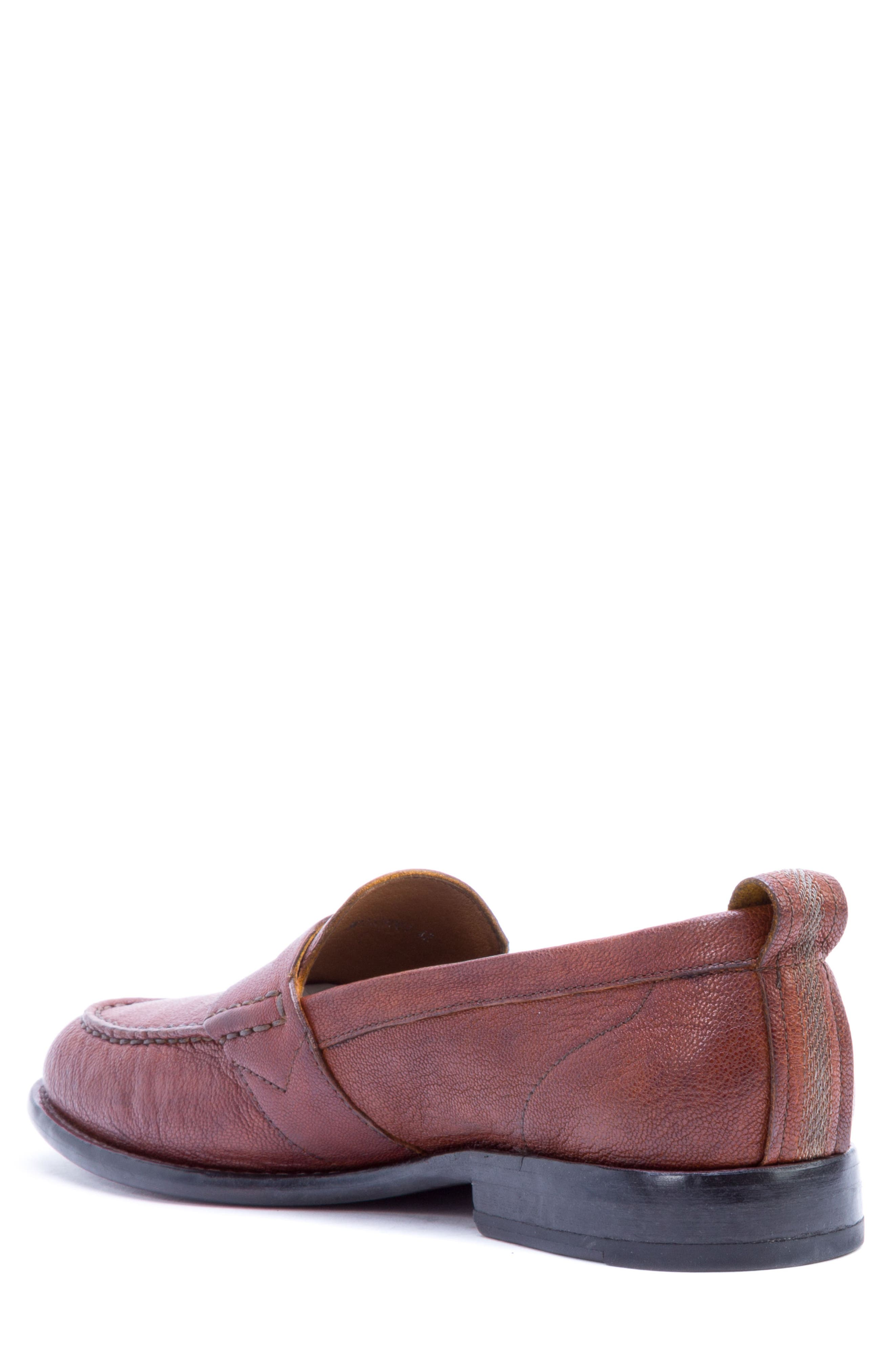 Torres Penny Loafer,                             Alternate thumbnail 2, color,                             Cognac Leather
