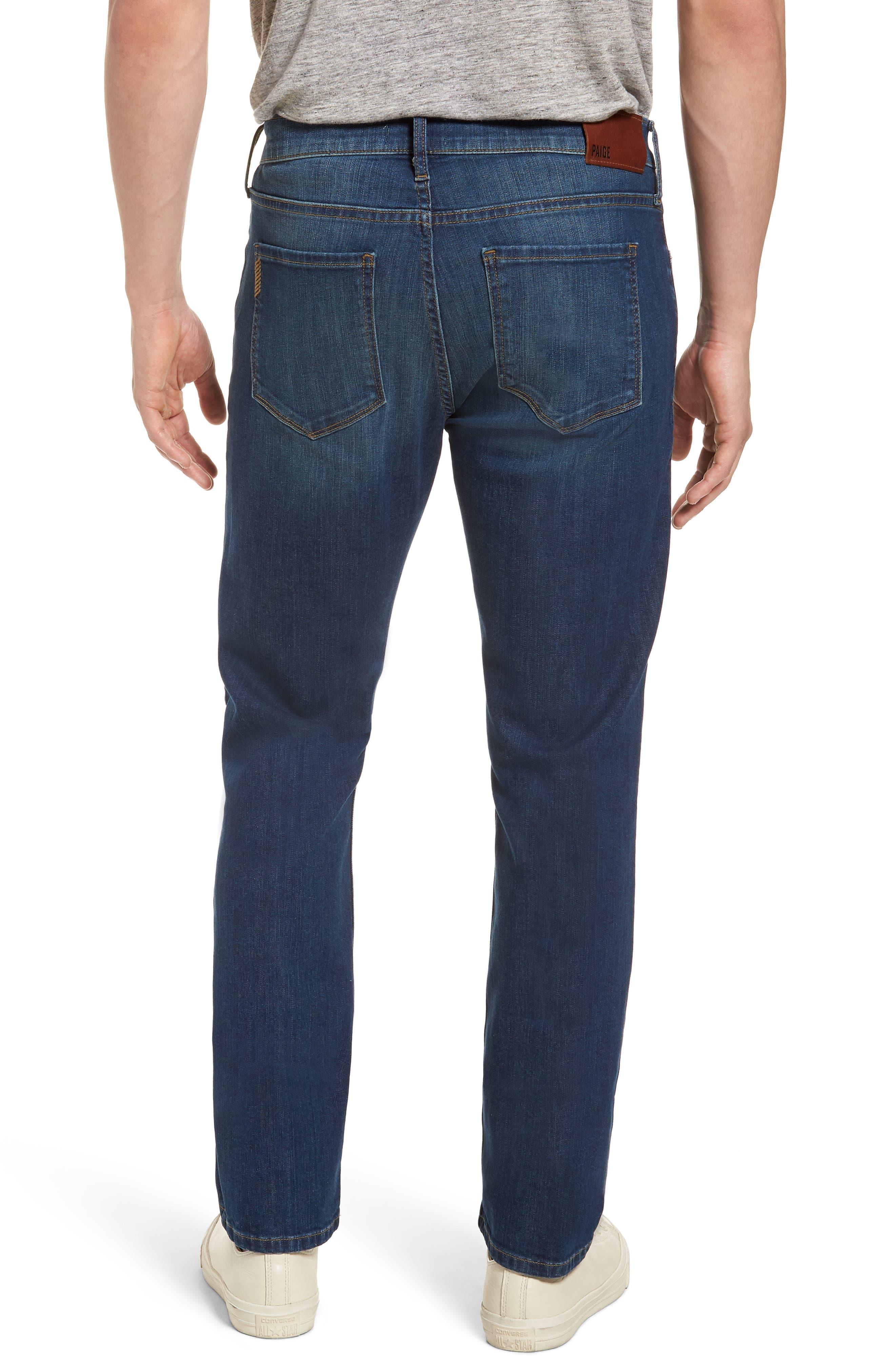 Lennox Slim Fit Jeans,                             Alternate thumbnail 2, color,                             Harlan Destructed