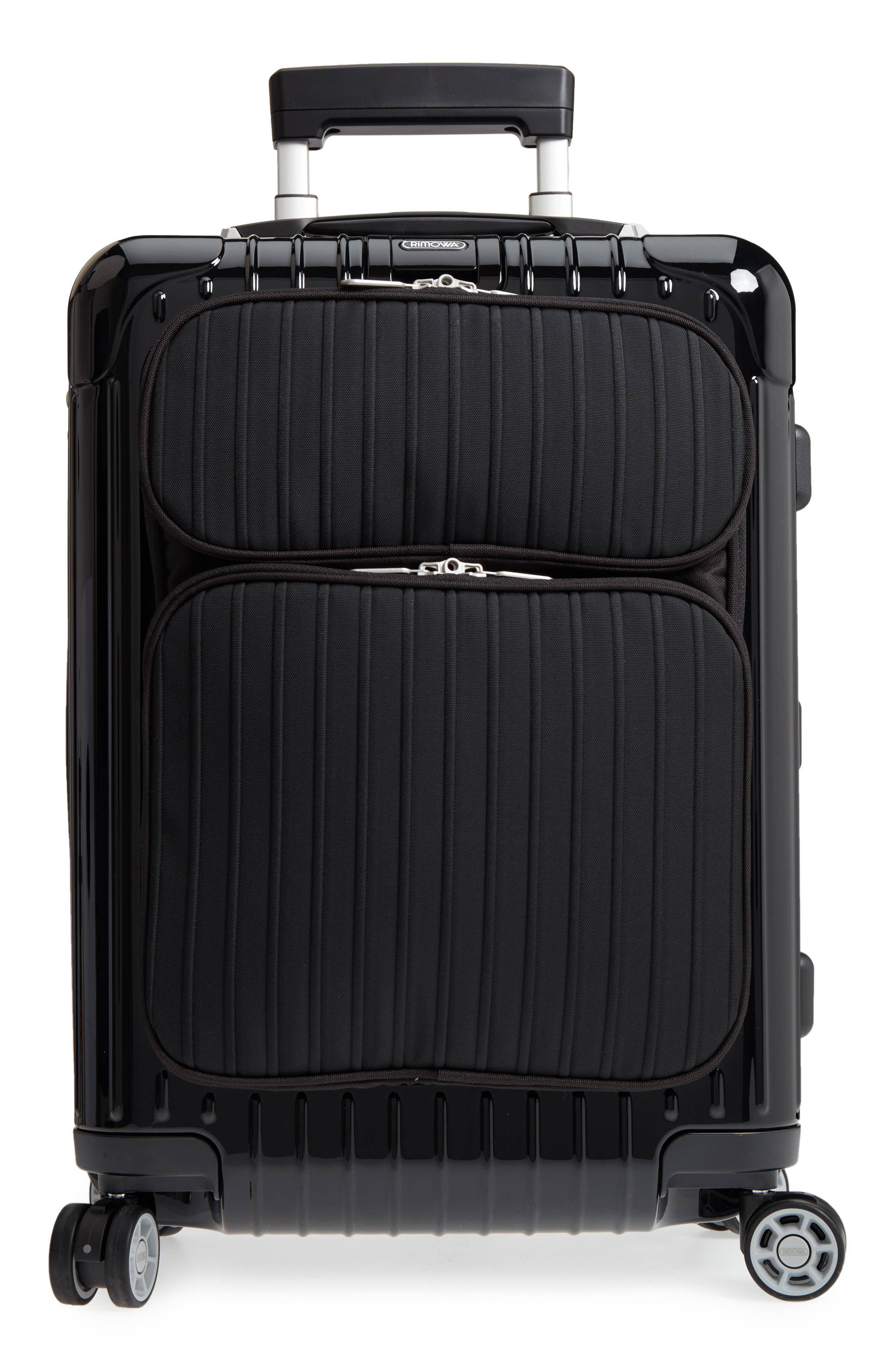 Salsa Deluxe Cabin Multiwheel<sup>®</sup> Carry-On,                             Main thumbnail 1, color,                             Black