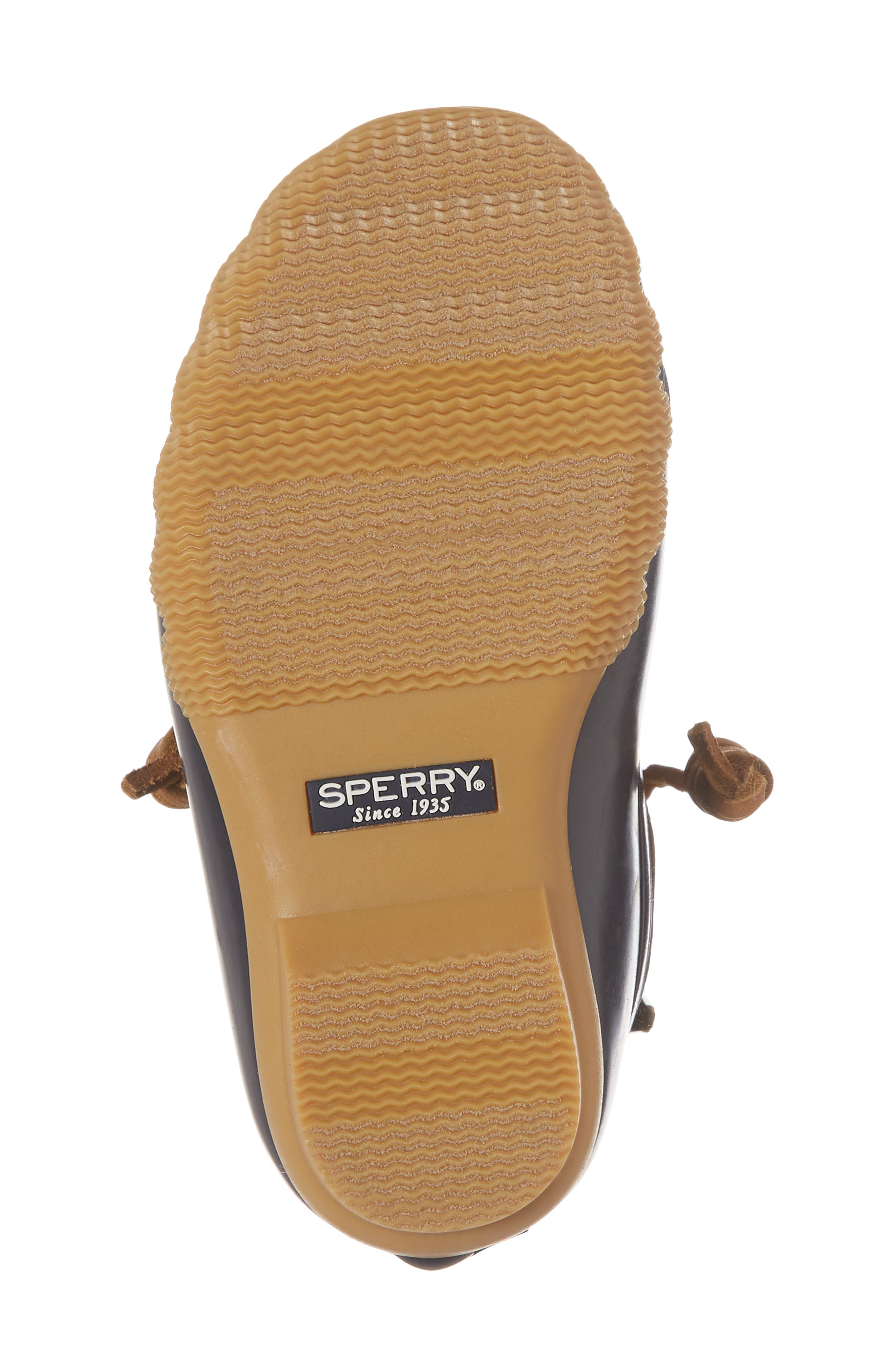 Saltwater Duck Boot,                             Alternate thumbnail 6, color,                             Navy/ Navy