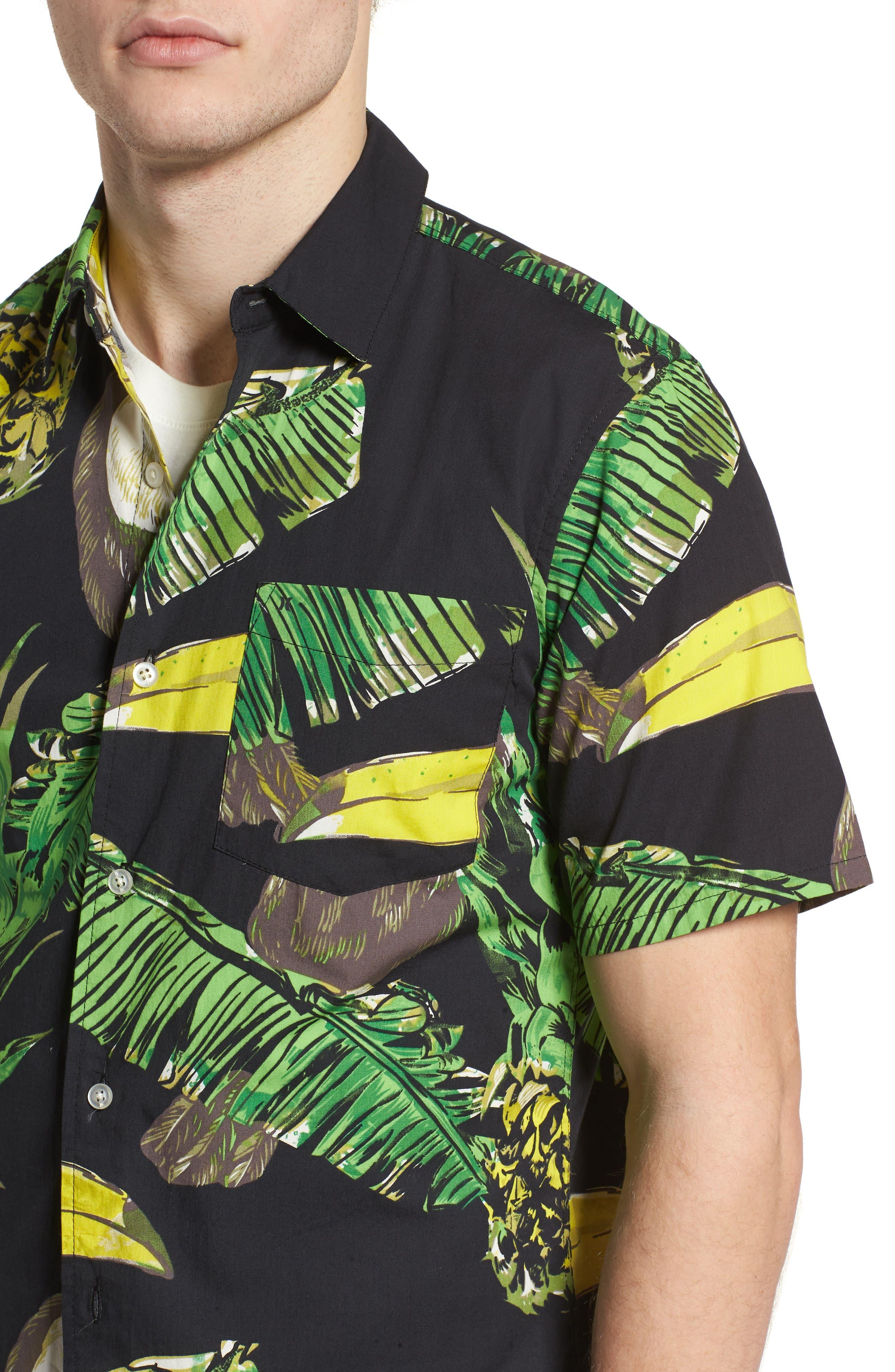 Toucan Shirt,                             Alternate thumbnail 2, color,                             Black