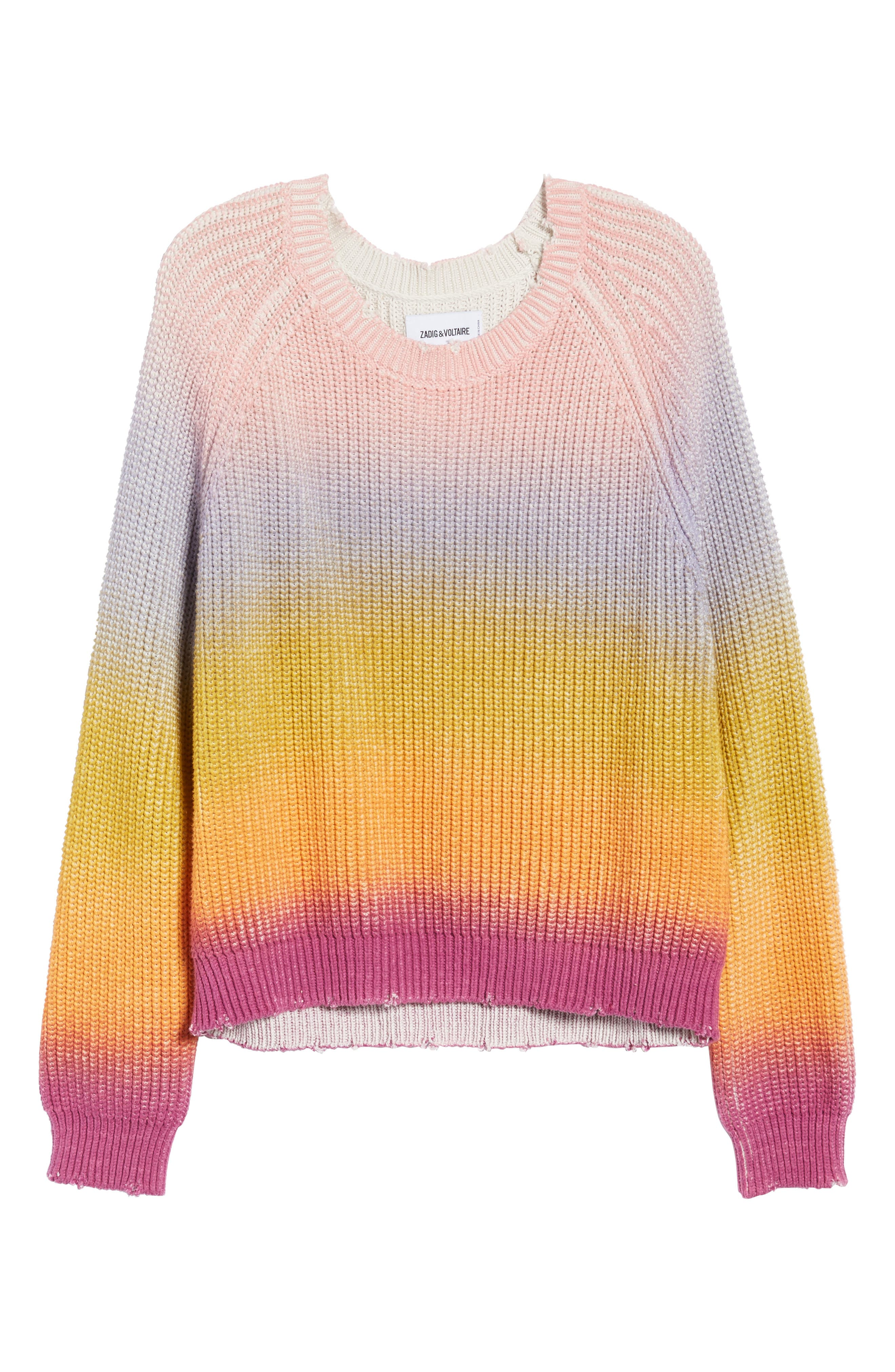 Kary Sweater,                             Alternate thumbnail 7, color,                             Multicolor