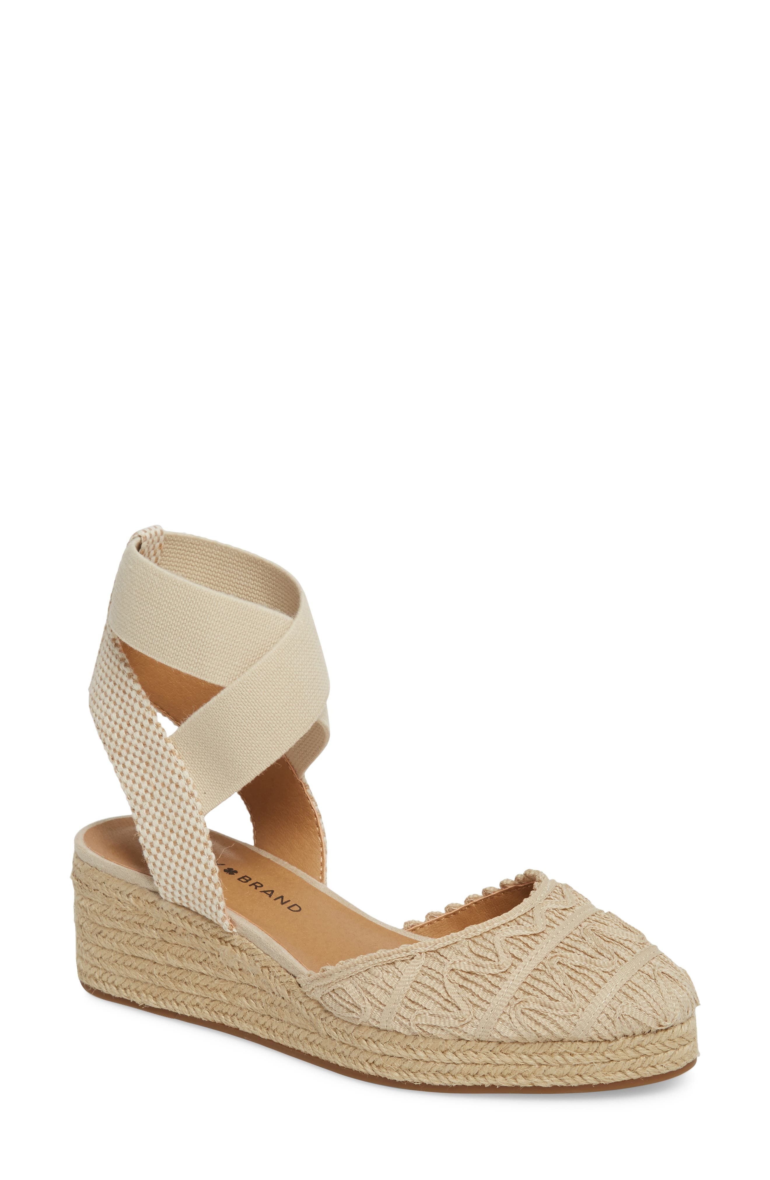Lucky Brand Luvinia Espadrille Wedge (Women)