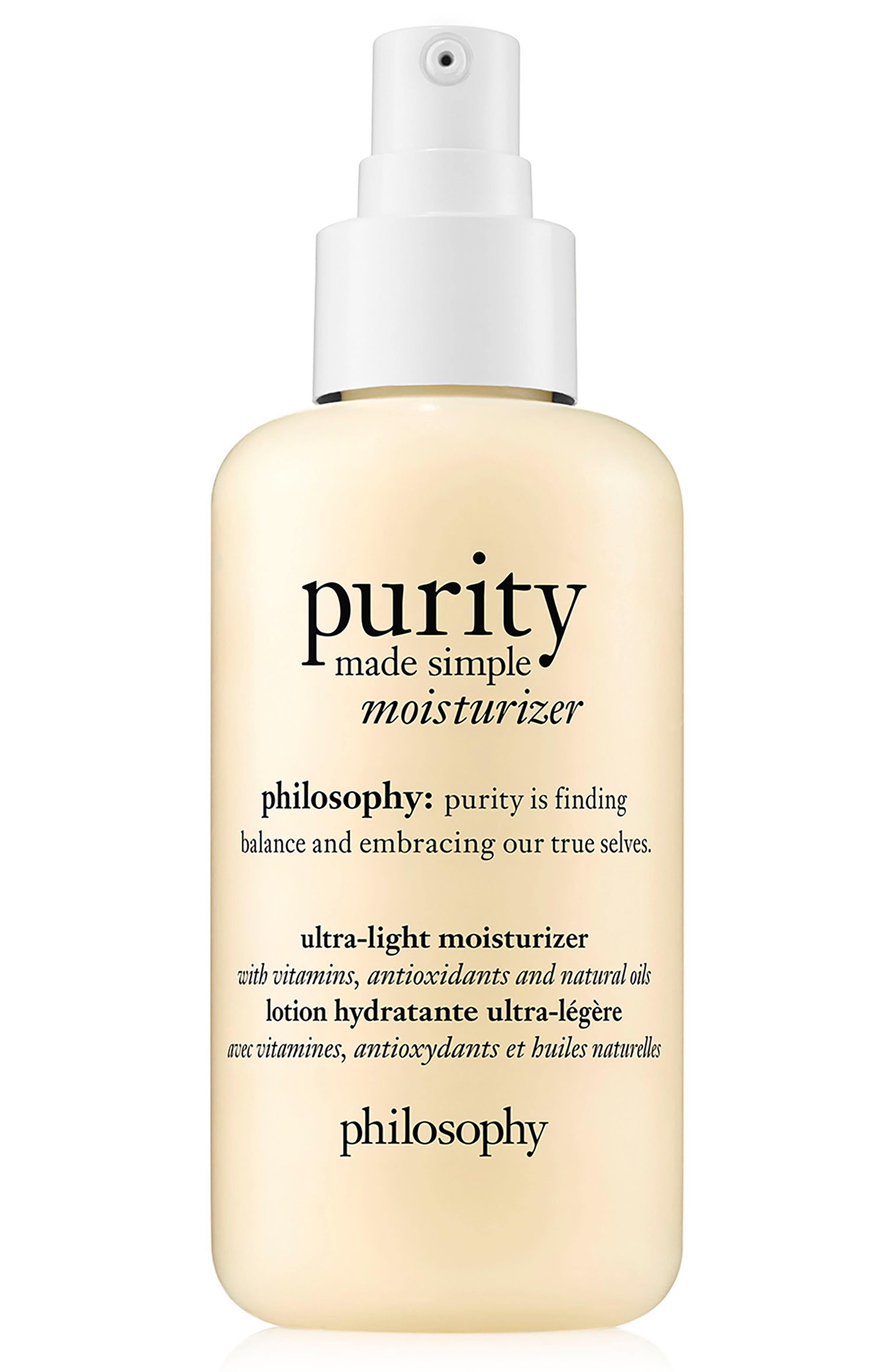 Alternate Image 1 Selected - philosophy purity made simple ultra-light moisturizer