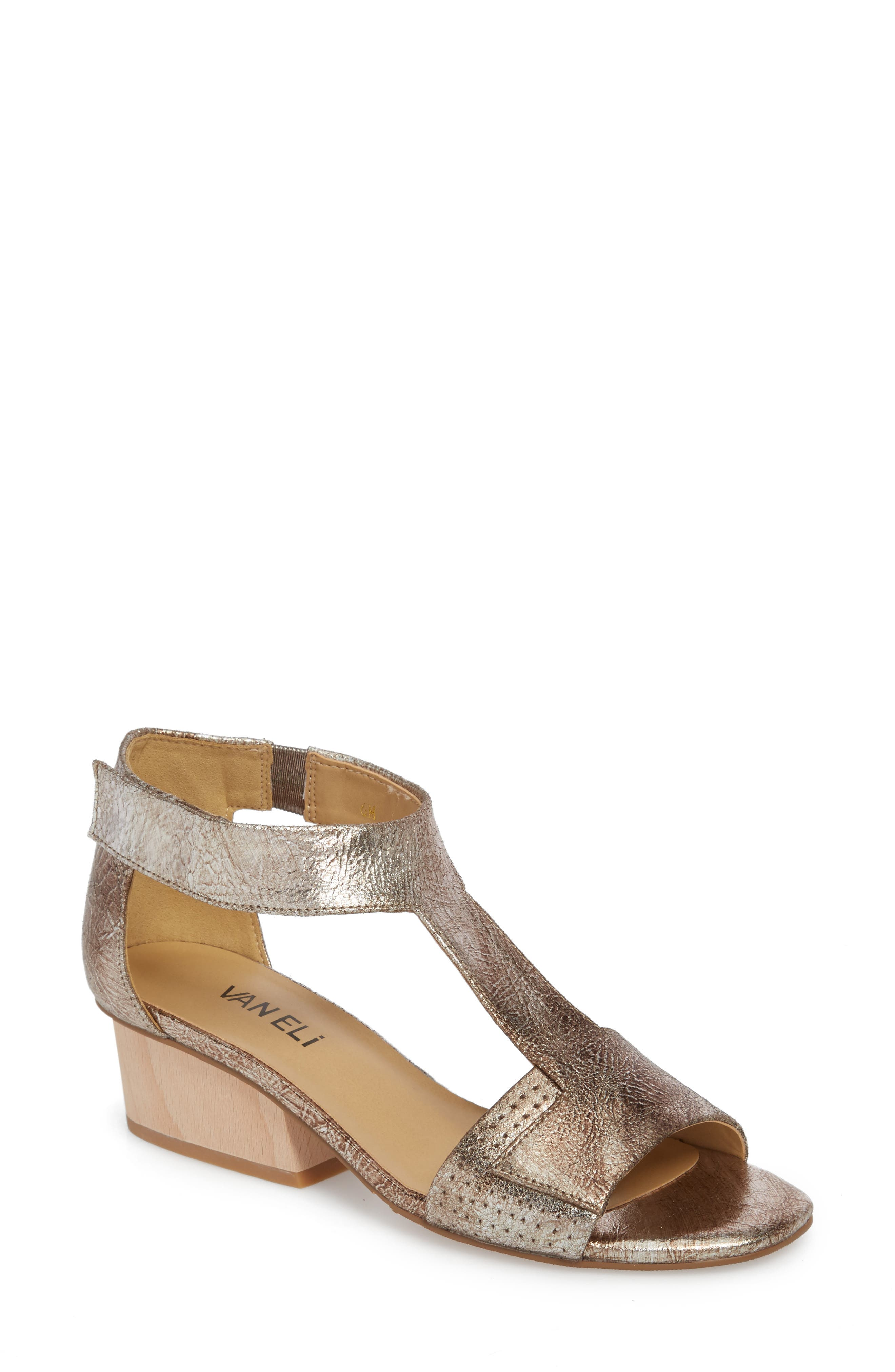Calyx Block Heel Sandal,                         Main,                         color, Grey Leather