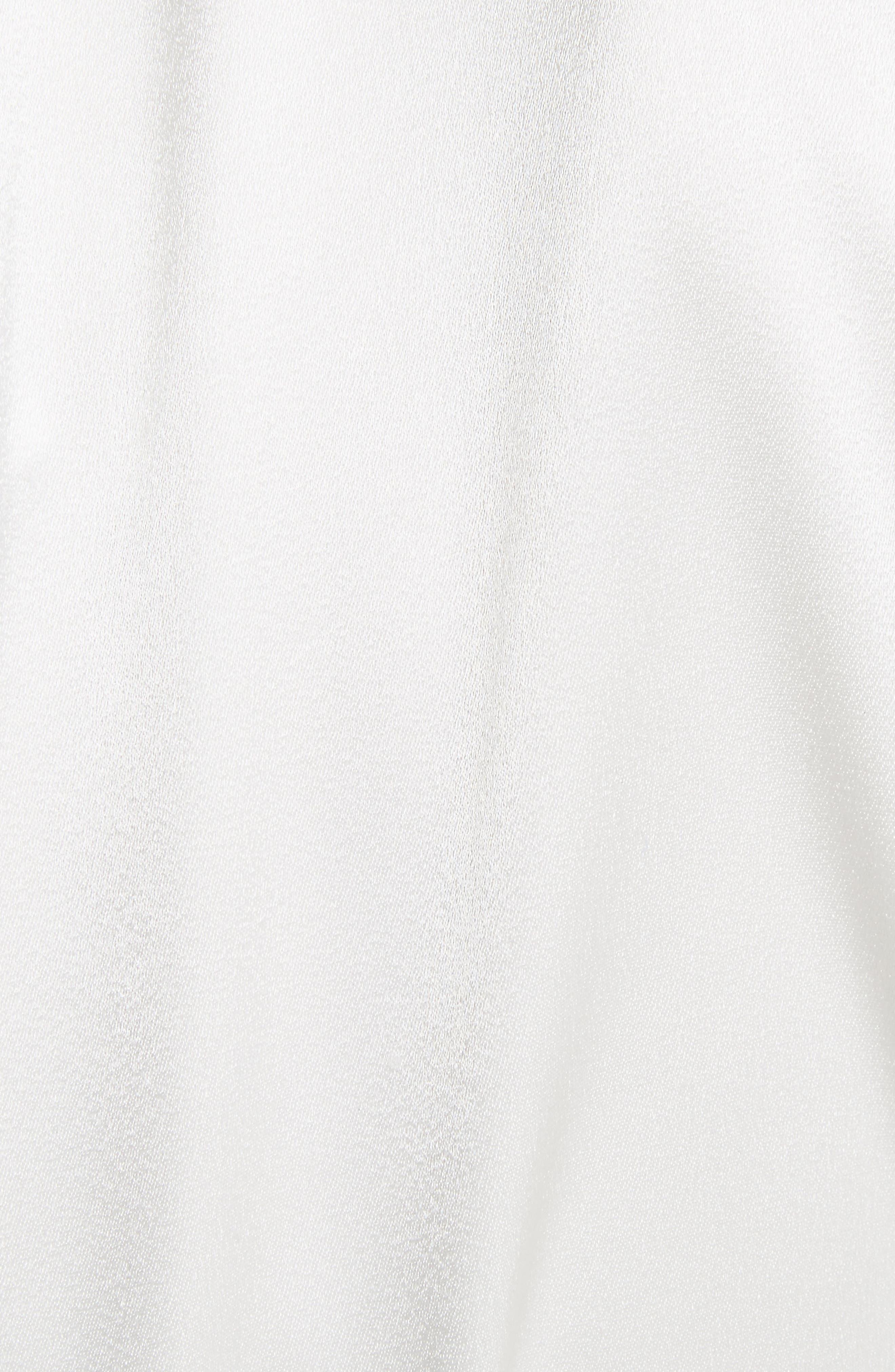 Lavine One-Shoulder Top,                             Alternate thumbnail 5, color,                             White