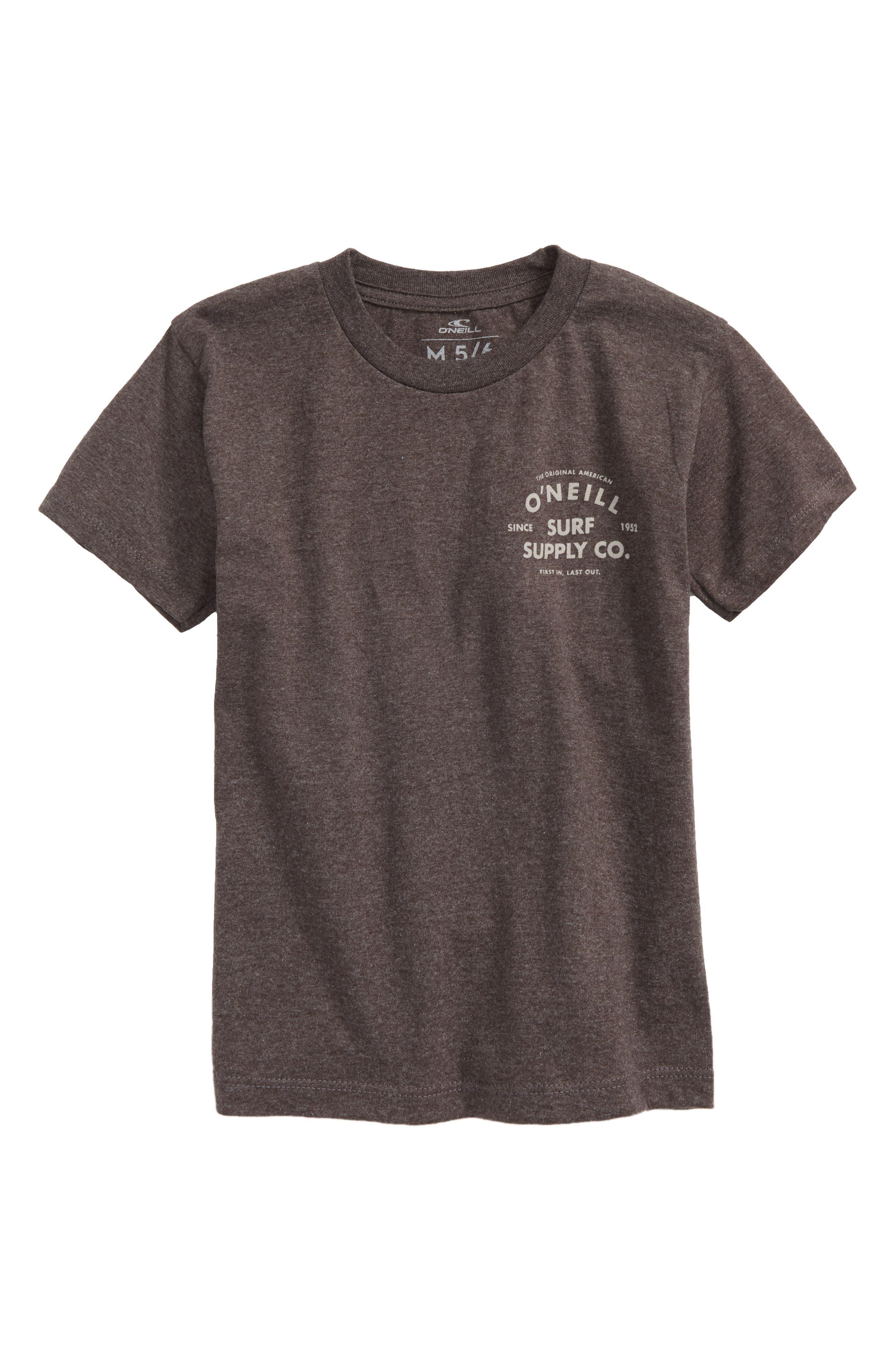 Gonner Graphic T-Shirt,                             Main thumbnail 1, color,                             Heather Black