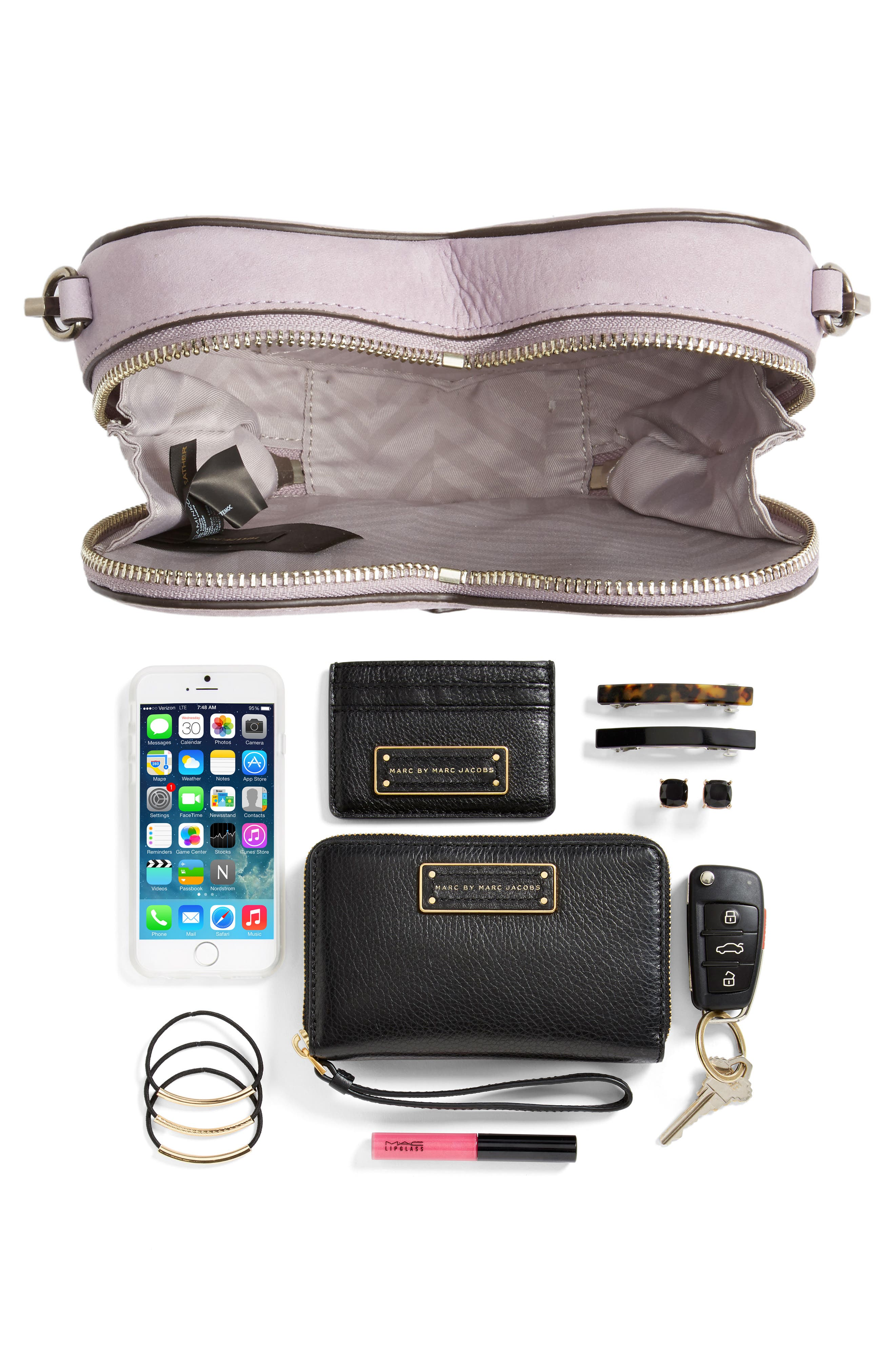 Alternate Image 8  - Rebecca Minkoff Jamie Heart Leather Crossbody Bag