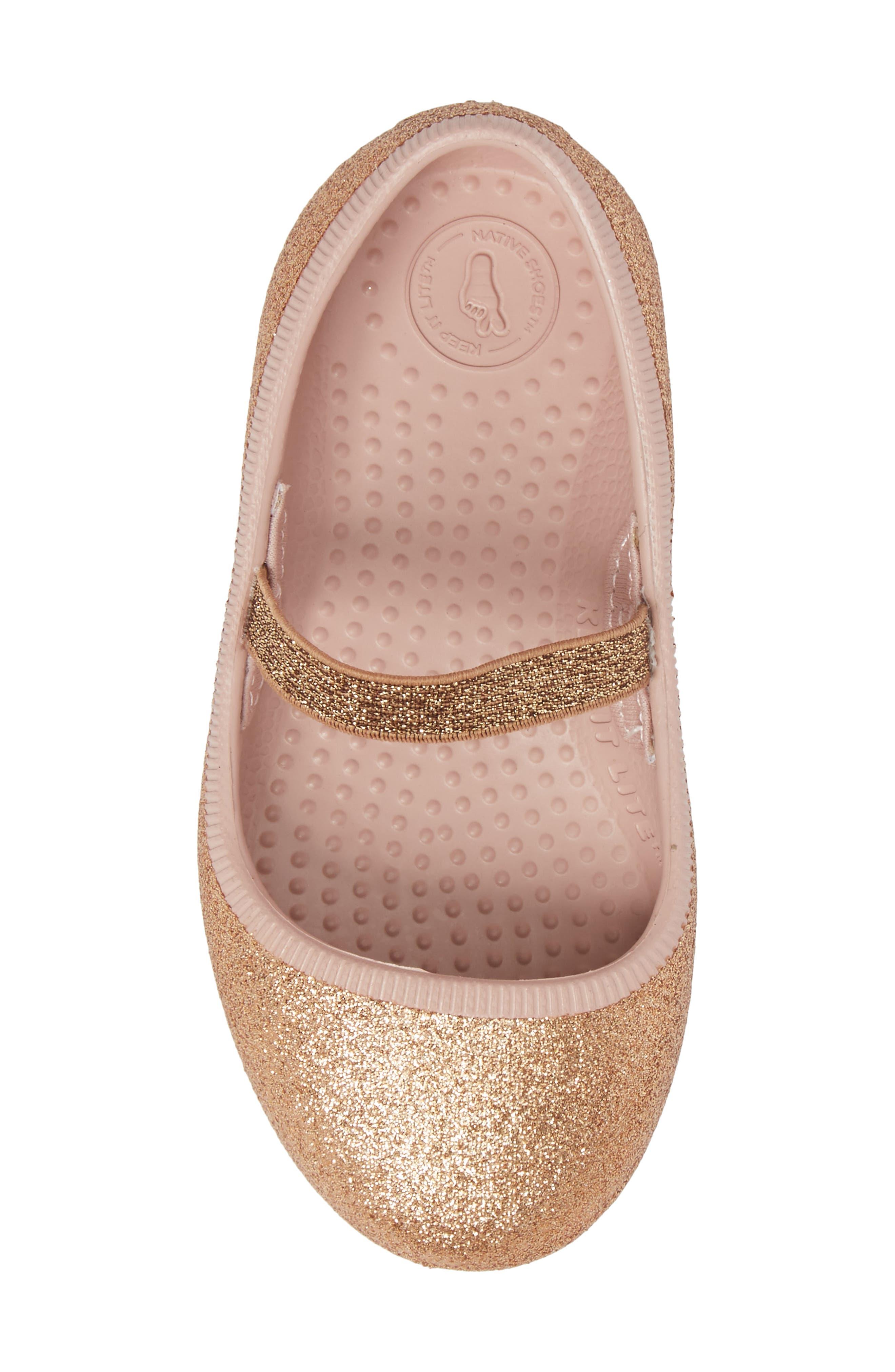 Alternate Image 5  - Native Shoes Margot Bling Glitter Mary Jane (Baby, Walker, Toddler & Little Kid)