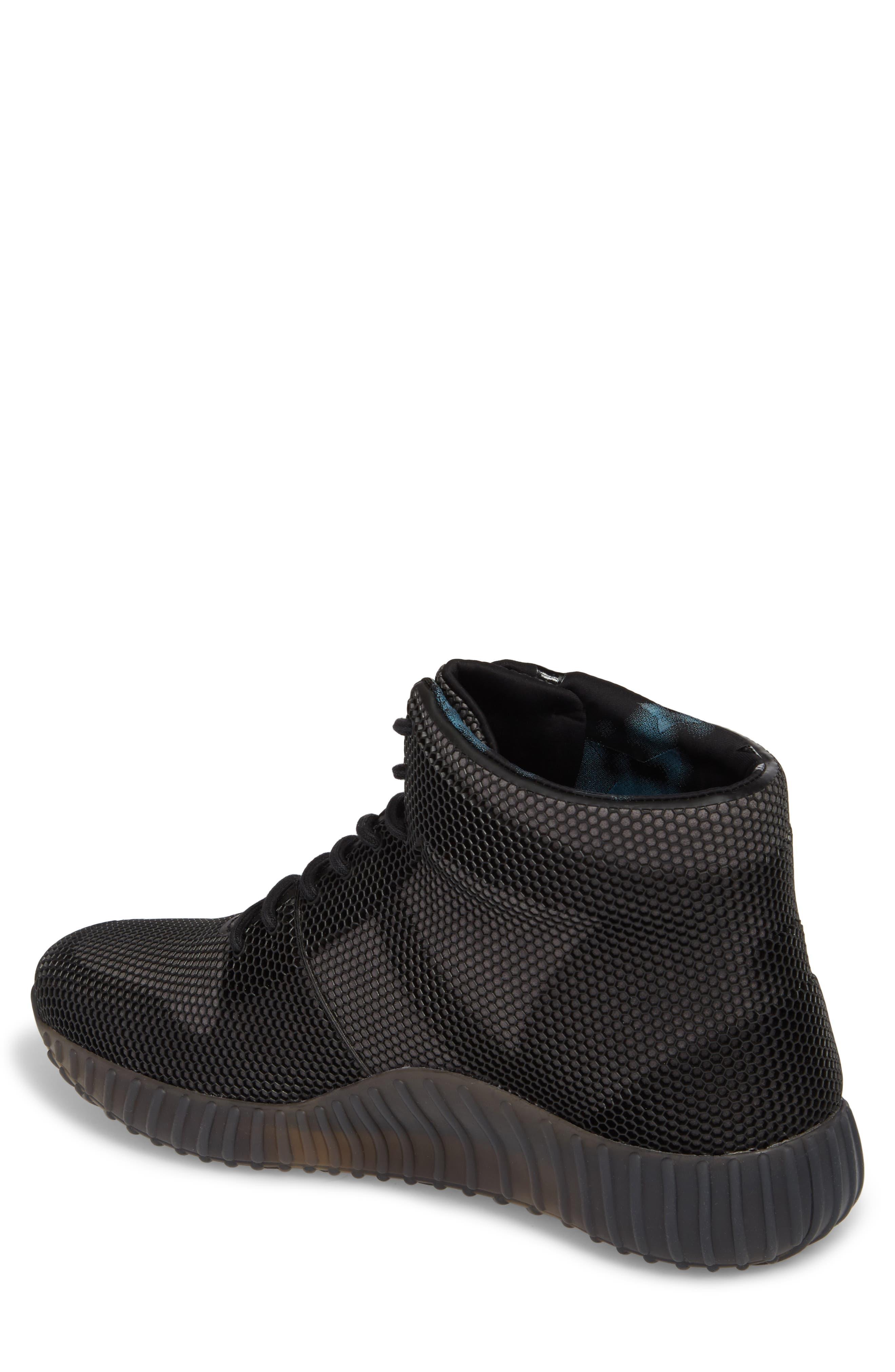 Mid-Top Sneaker,                             Alternate thumbnail 2, color,                             Black