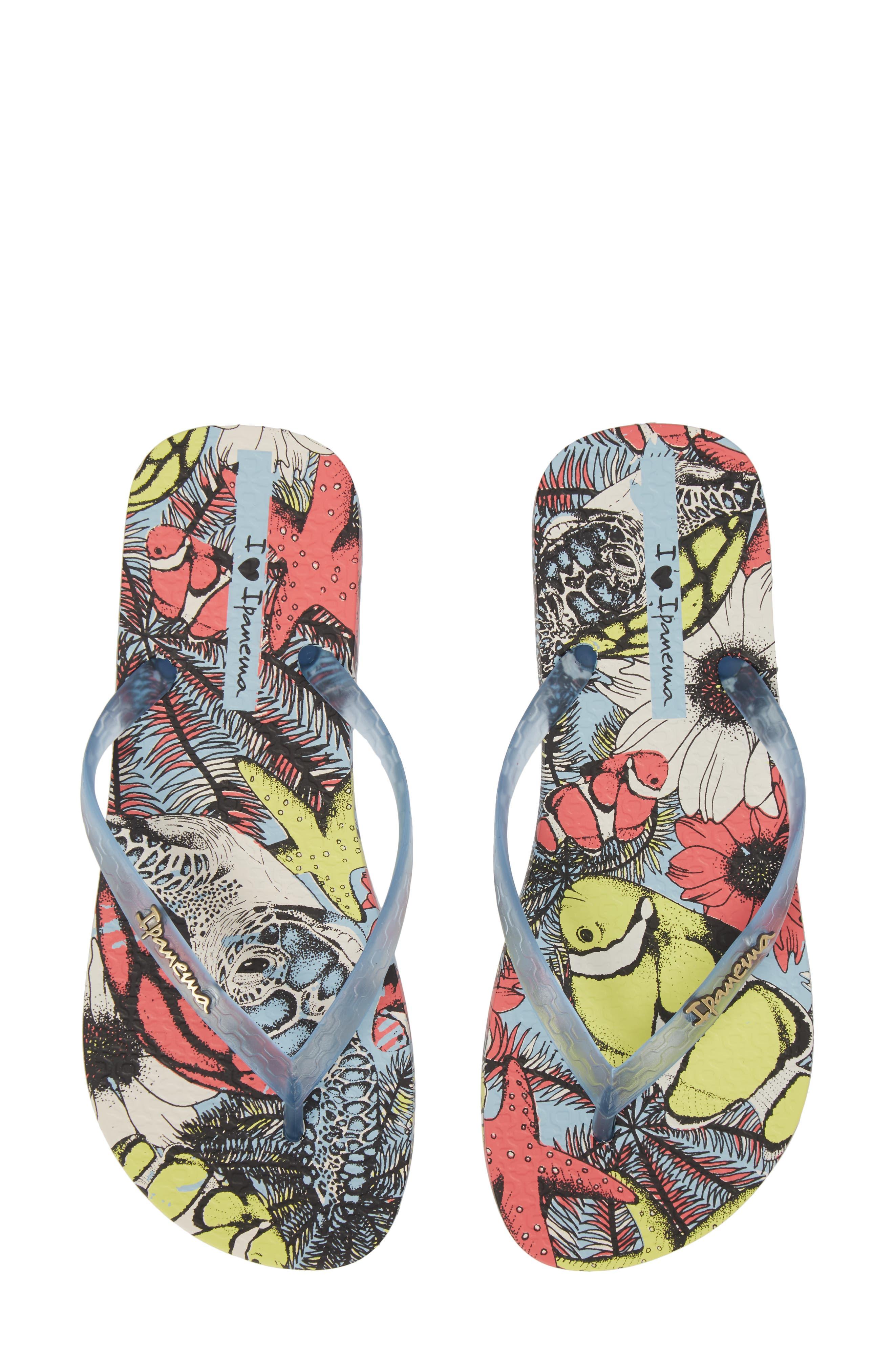 Ipanema Beauty Print Flip Flop (Women)