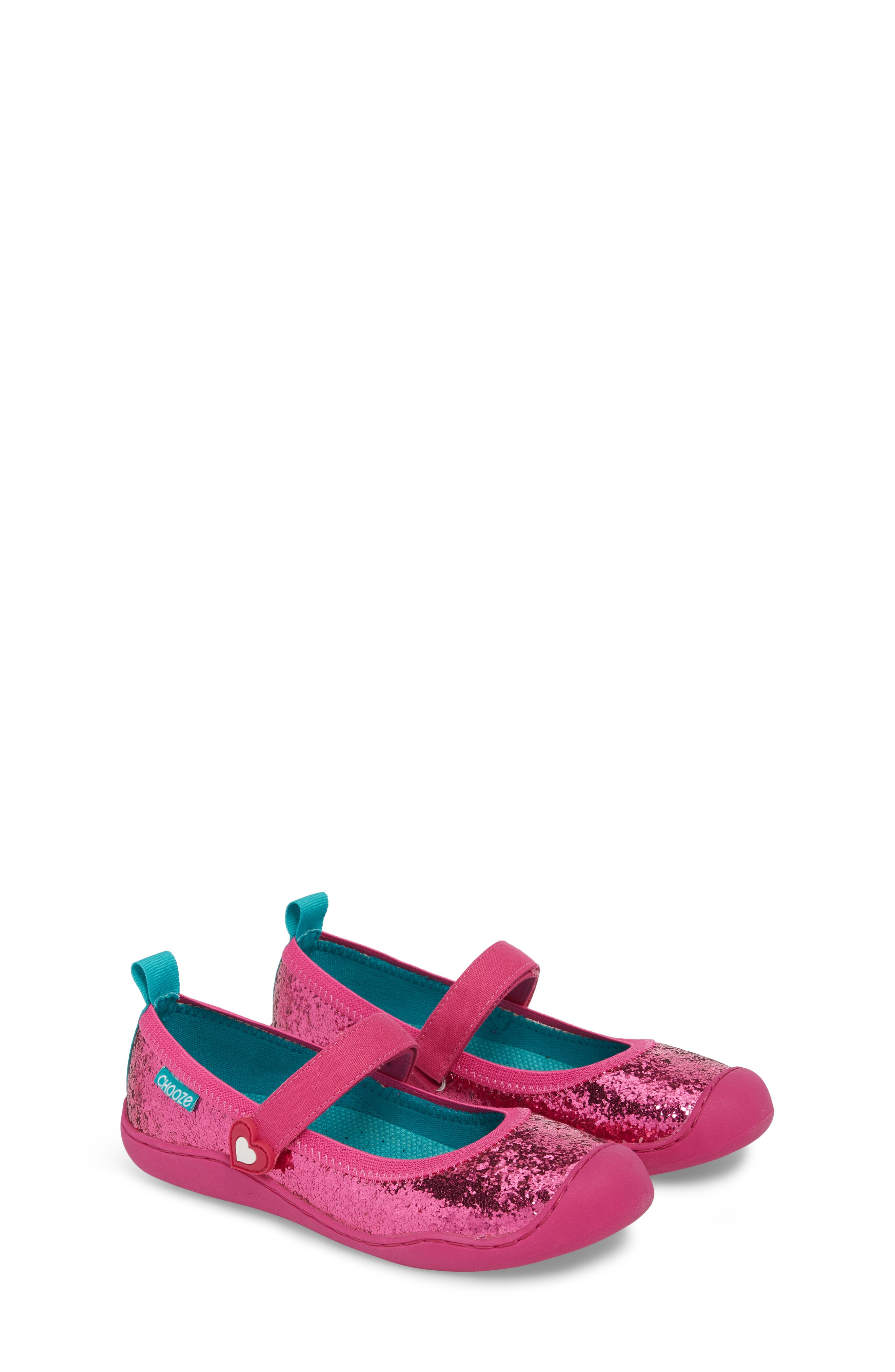 Steady Shimmer Mary Jane Sneaker,                             Alternate thumbnail 3, color,                             Tulip