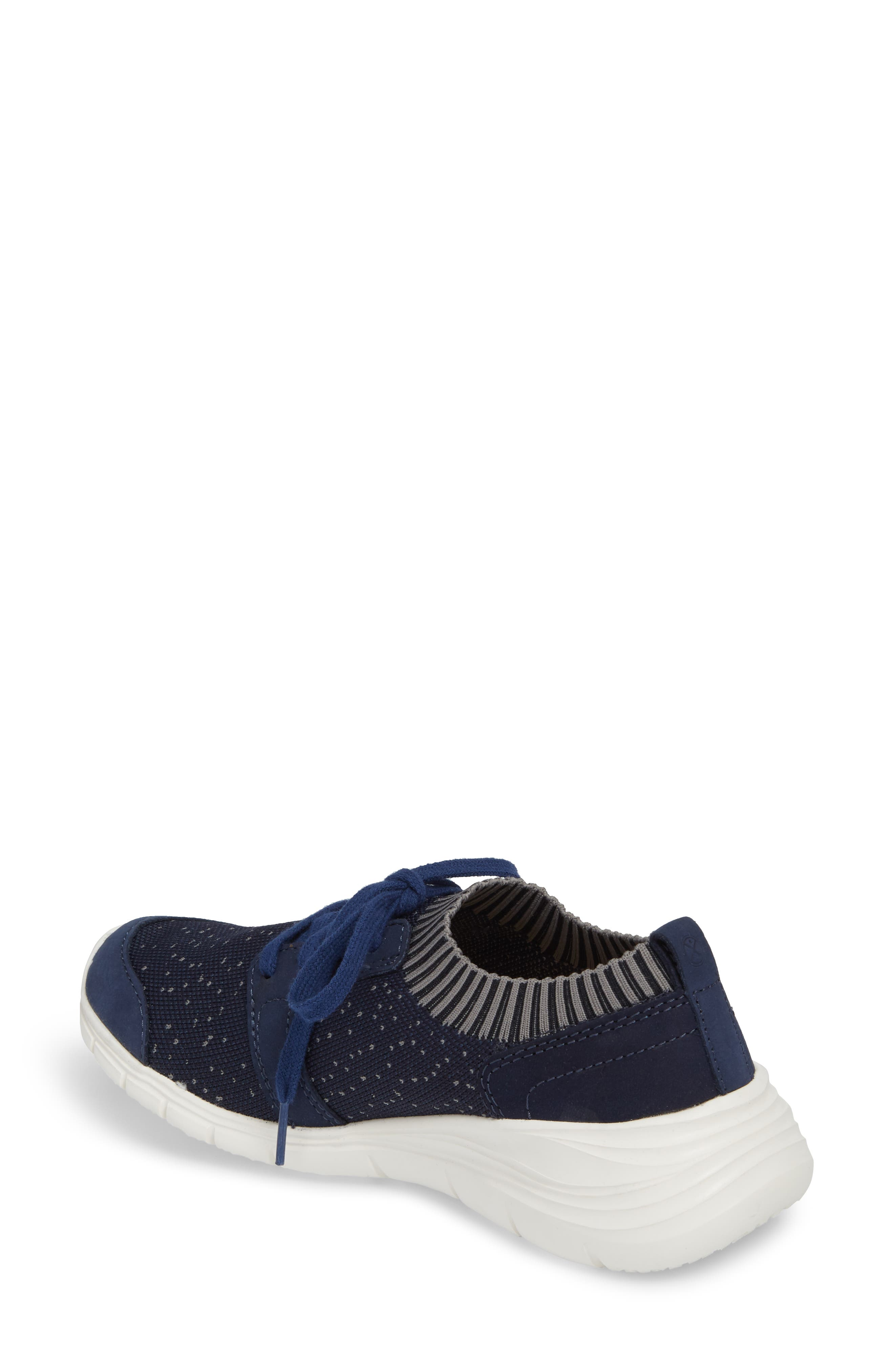 Cypress Knit Sneaker,                             Alternate thumbnail 2, color,                             Royal Navy Fabric