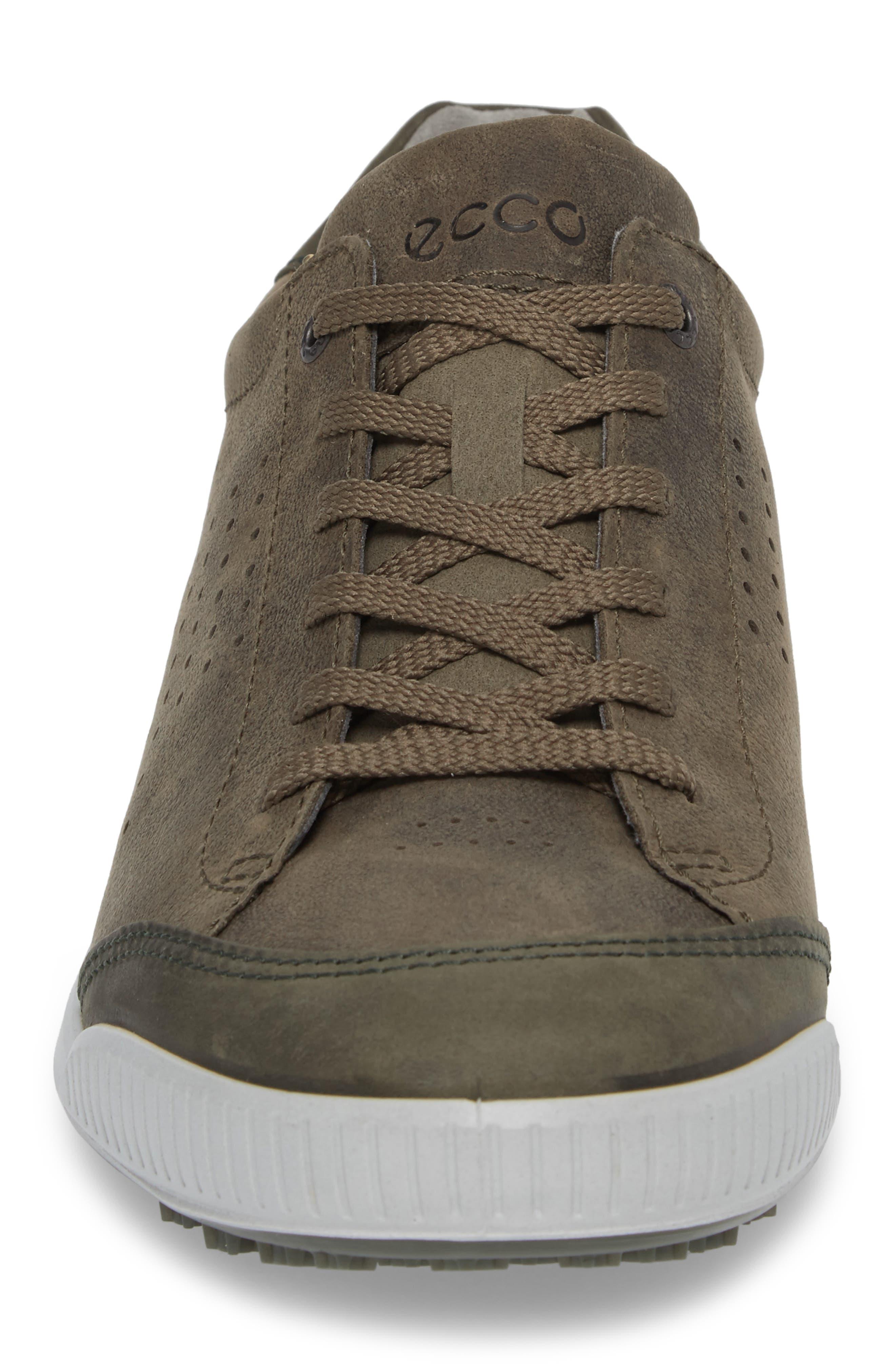Street Retro HM Golf Shoe,                             Alternate thumbnail 4, color,                             Tarmac/ Deep Fore Leather