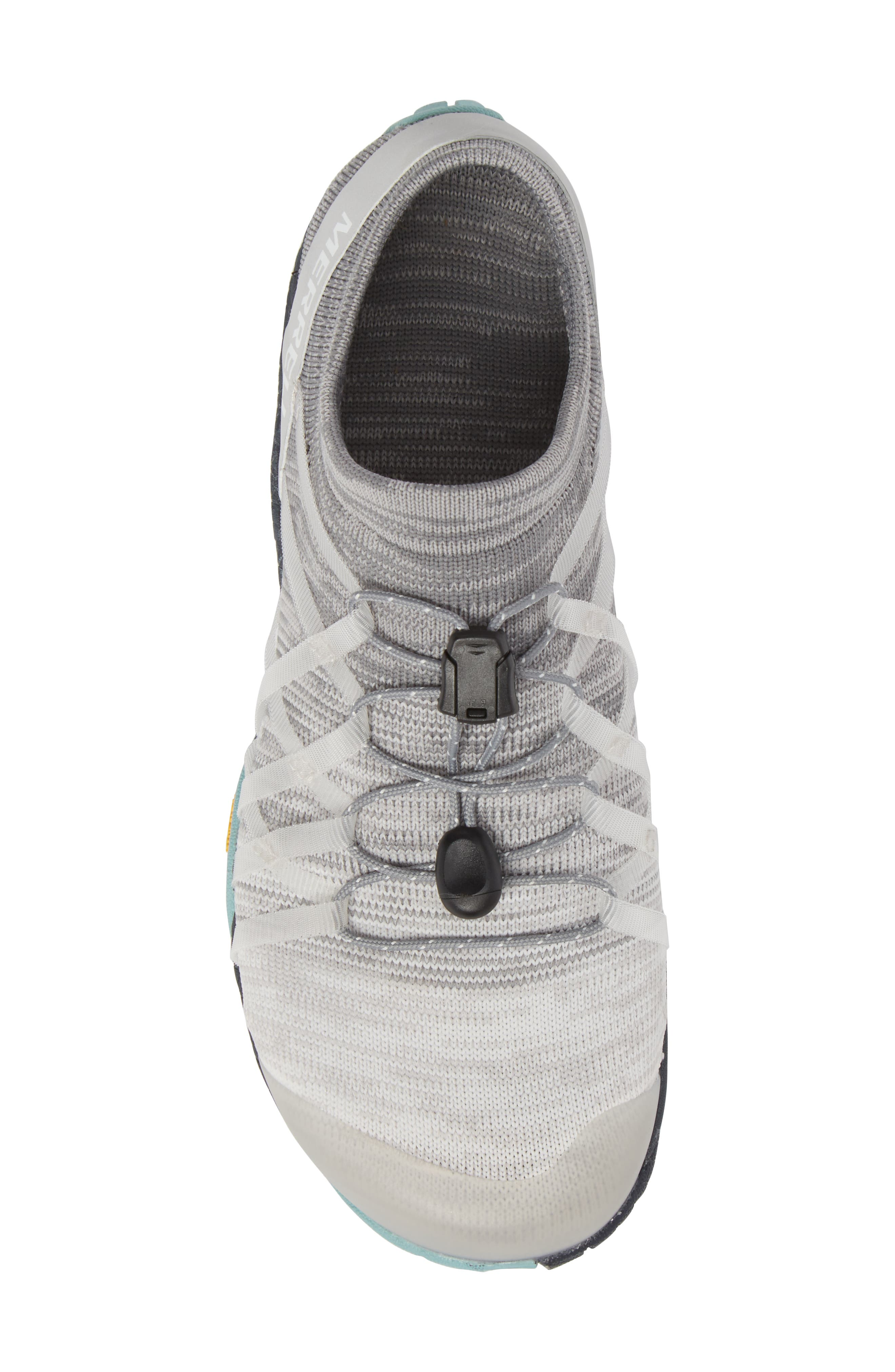 Trail Glove 4 Knit Running Shoe,                             Alternate thumbnail 5, color,                             Vapor