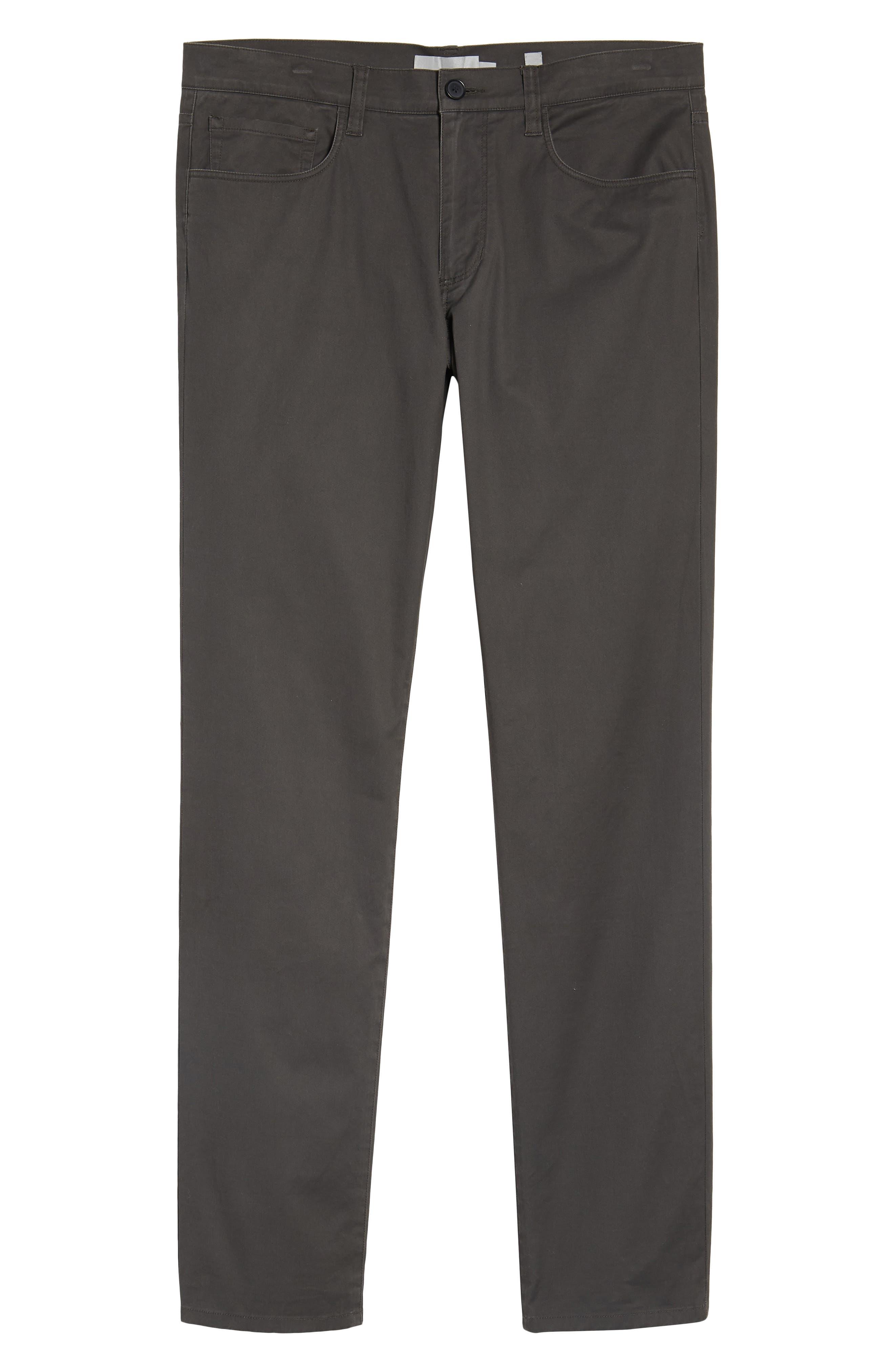 Slim Fit Wool Track Pants,                             Alternate thumbnail 6, color,                             Light Heather Grey