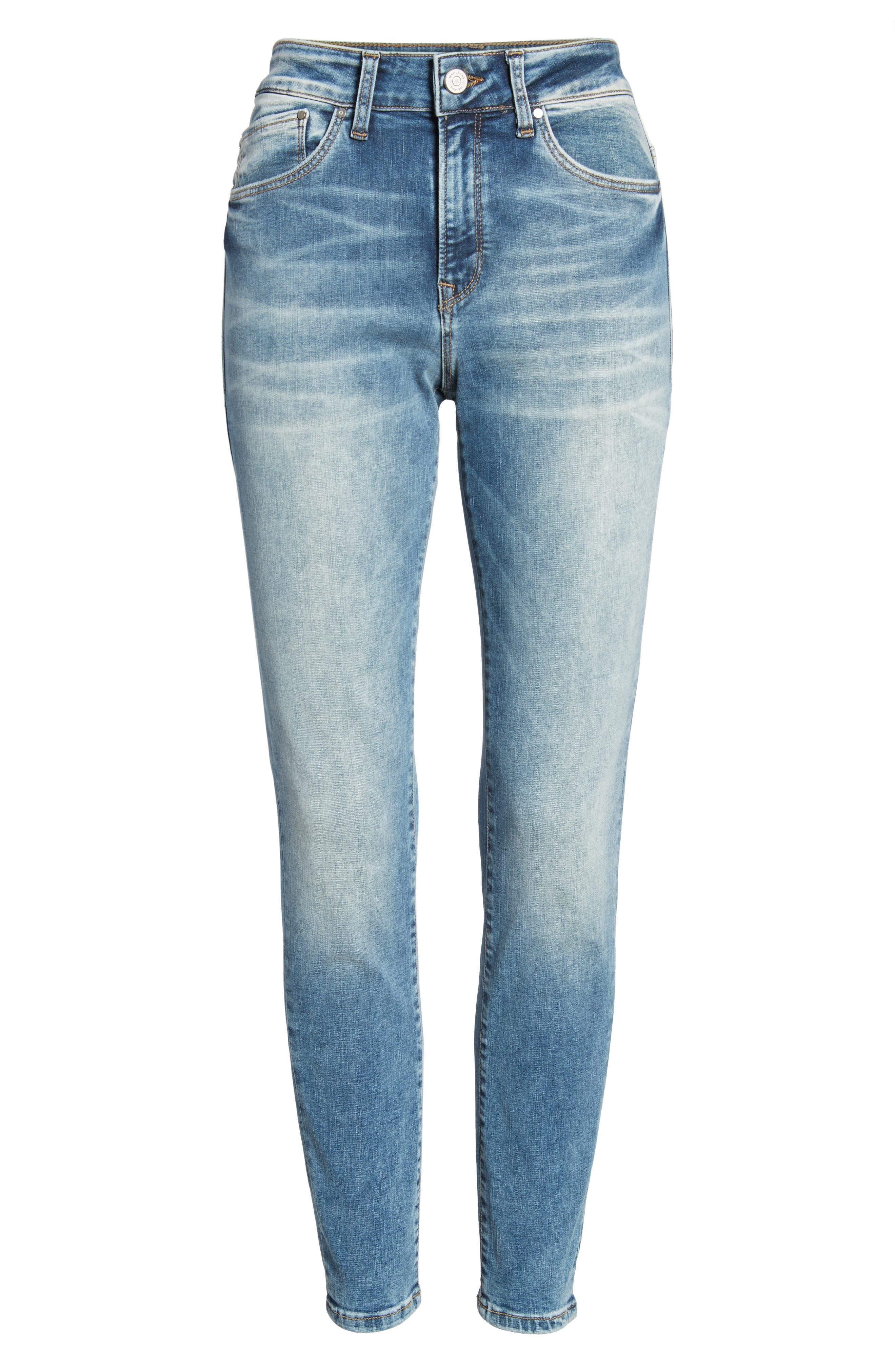 Alissa Ankle Jeans,                             Alternate thumbnail 7, color,                             Random Nolita