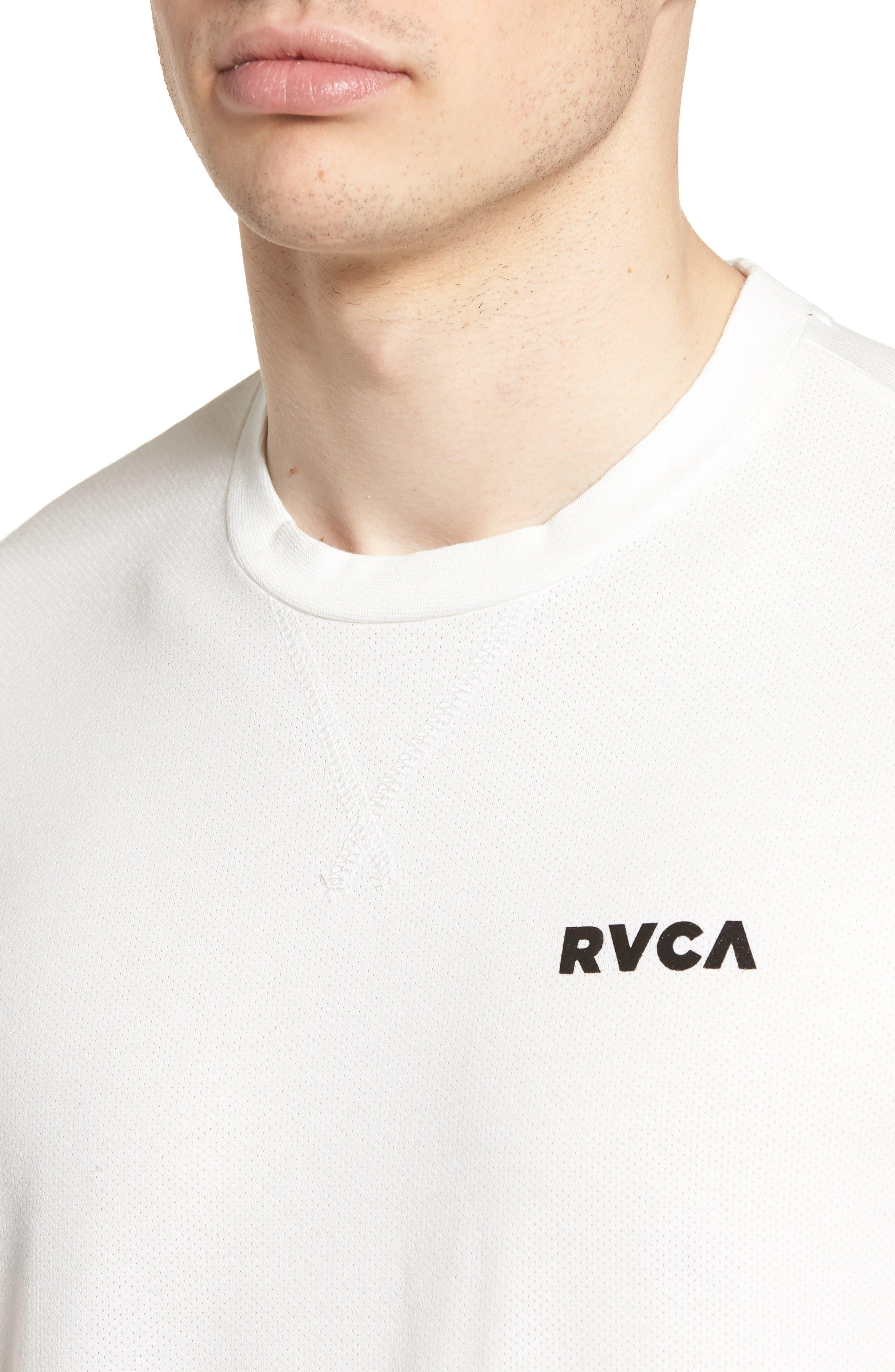 Runner Mesh II T-Shirt,                             Alternate thumbnail 4, color,                             White