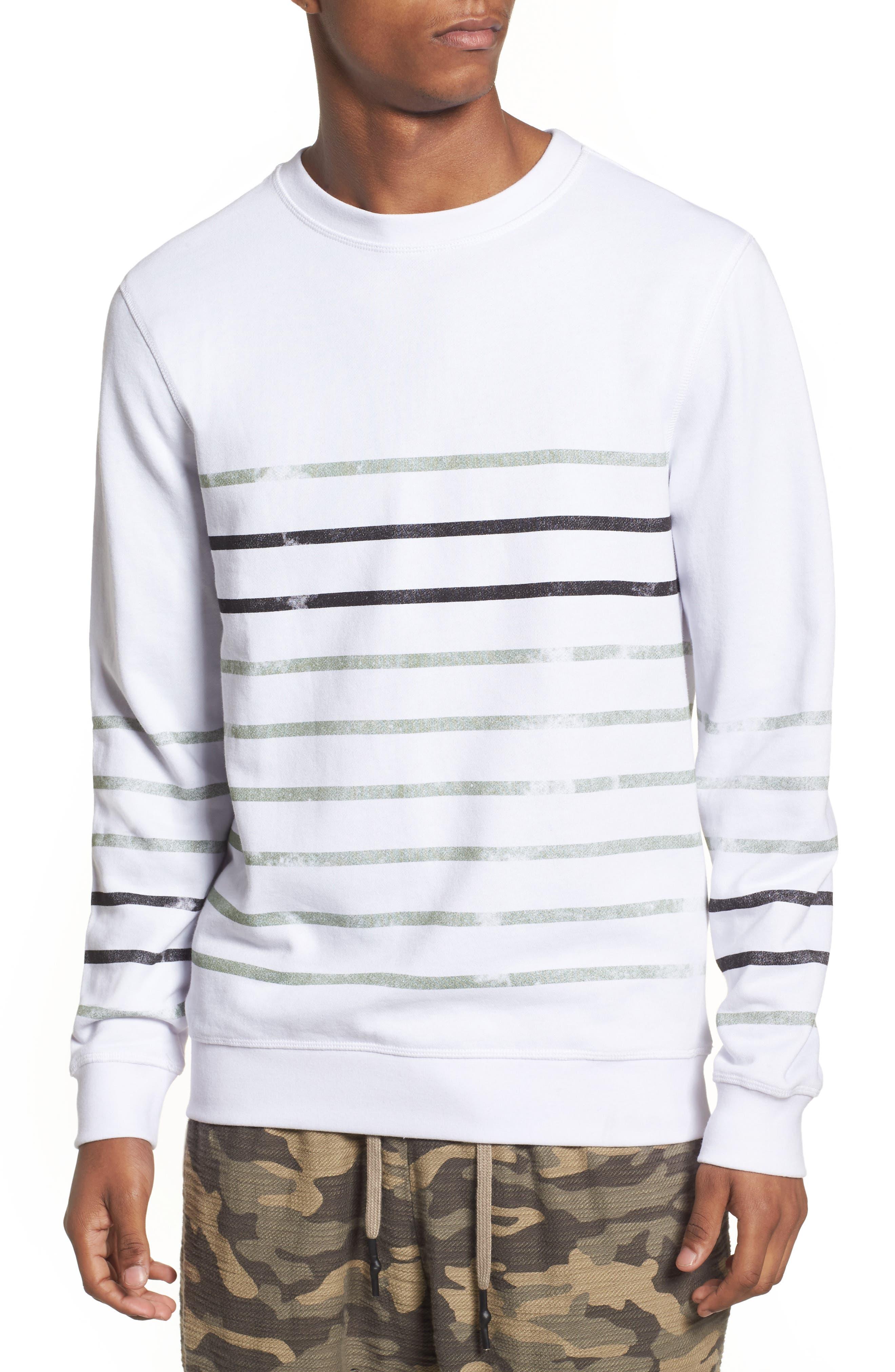 Antony Morato Stripe Fleece Sweatshirt