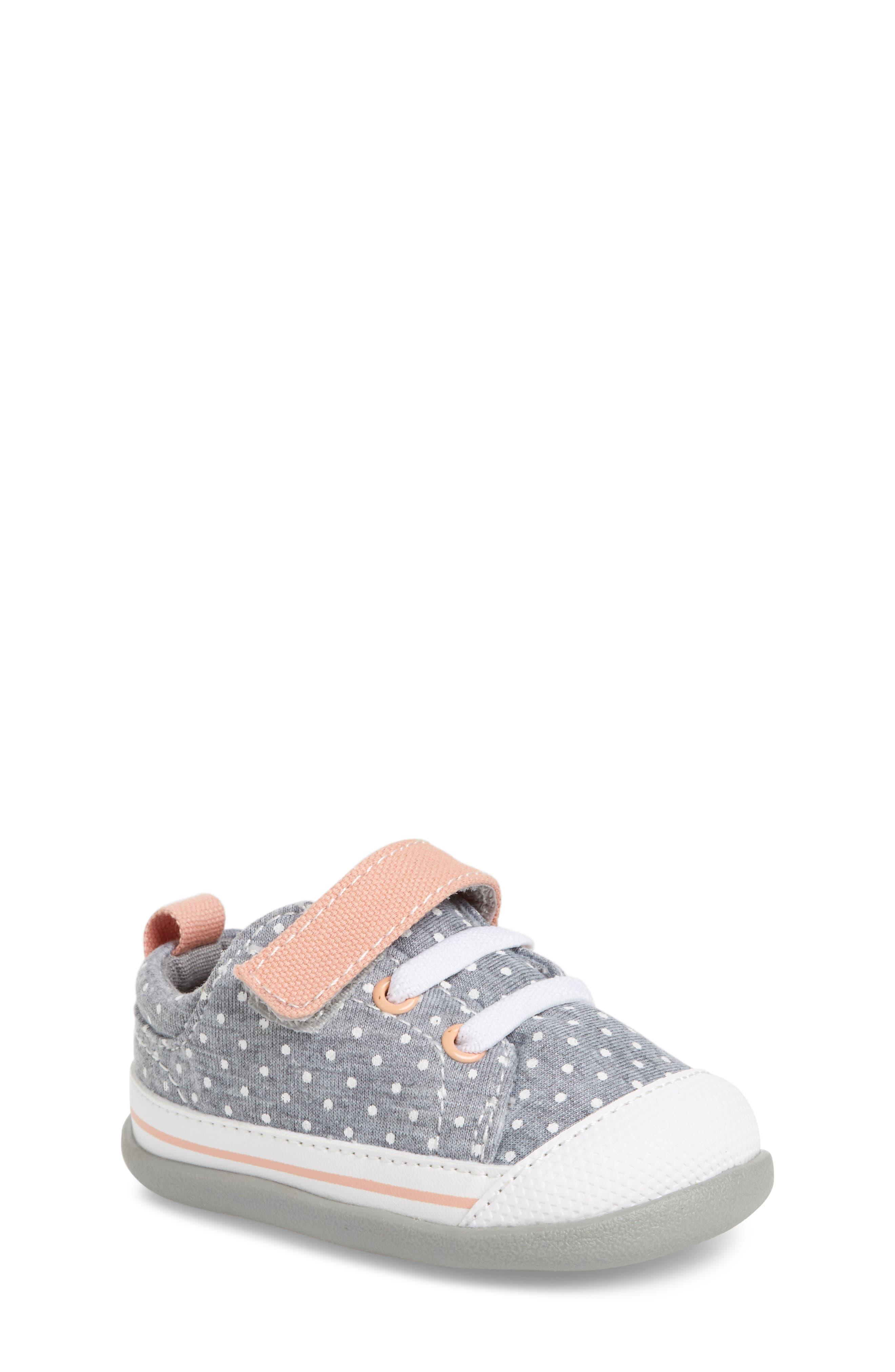 Stevie II Sneaker,                         Main,                         color, Jersey Dots