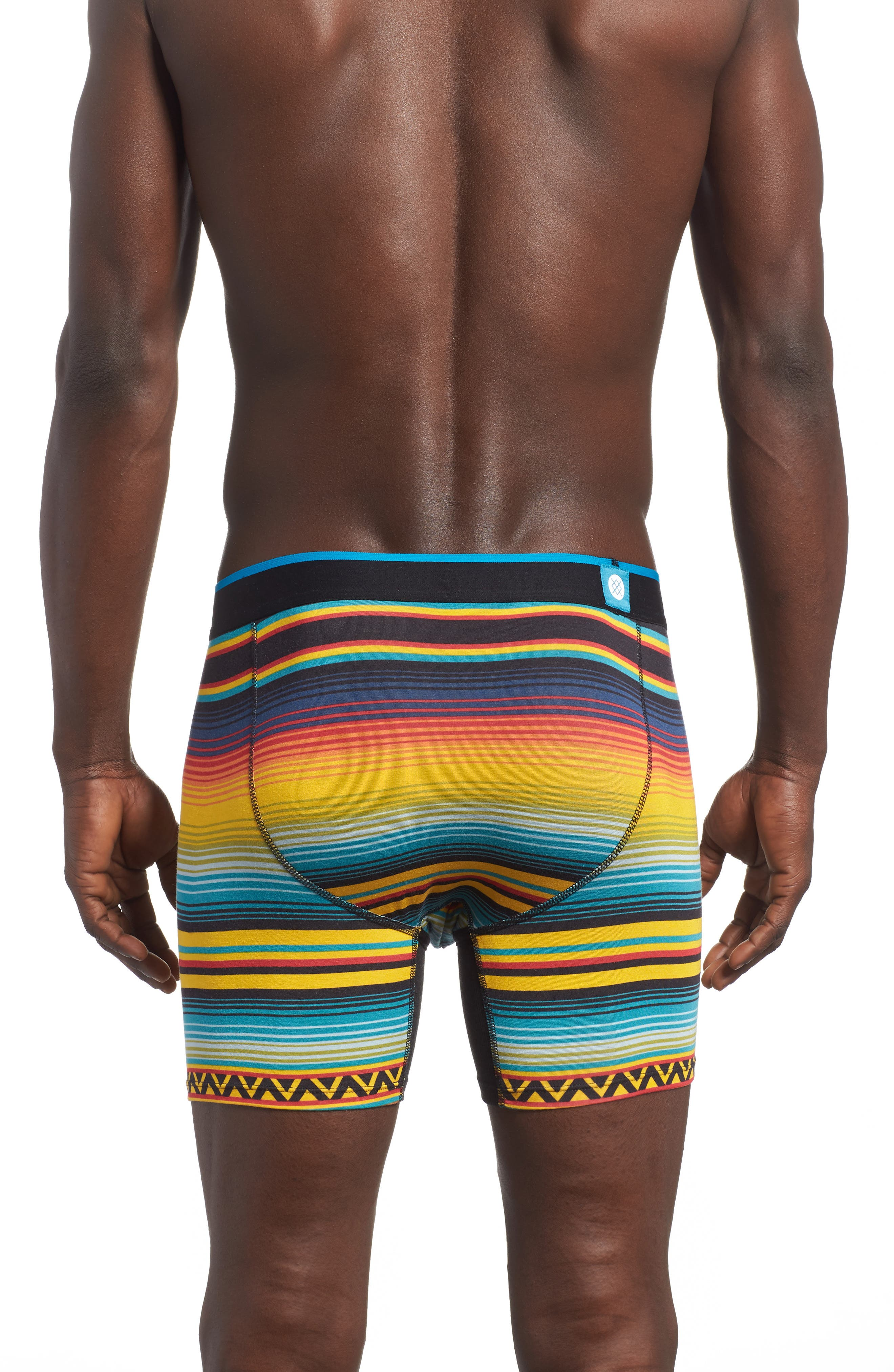 Dark Days Wholester Boxer Briefs,                             Alternate thumbnail 2, color,                             Yellow Multi